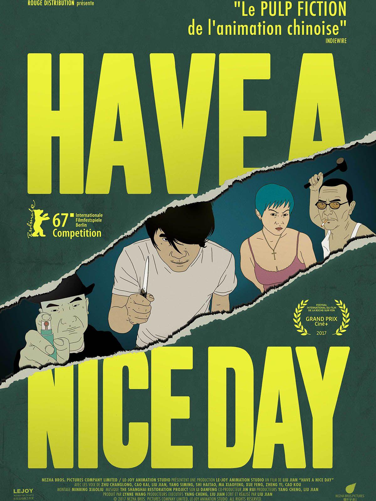Have a Nice Day - Long-métrage d'animation (2018)