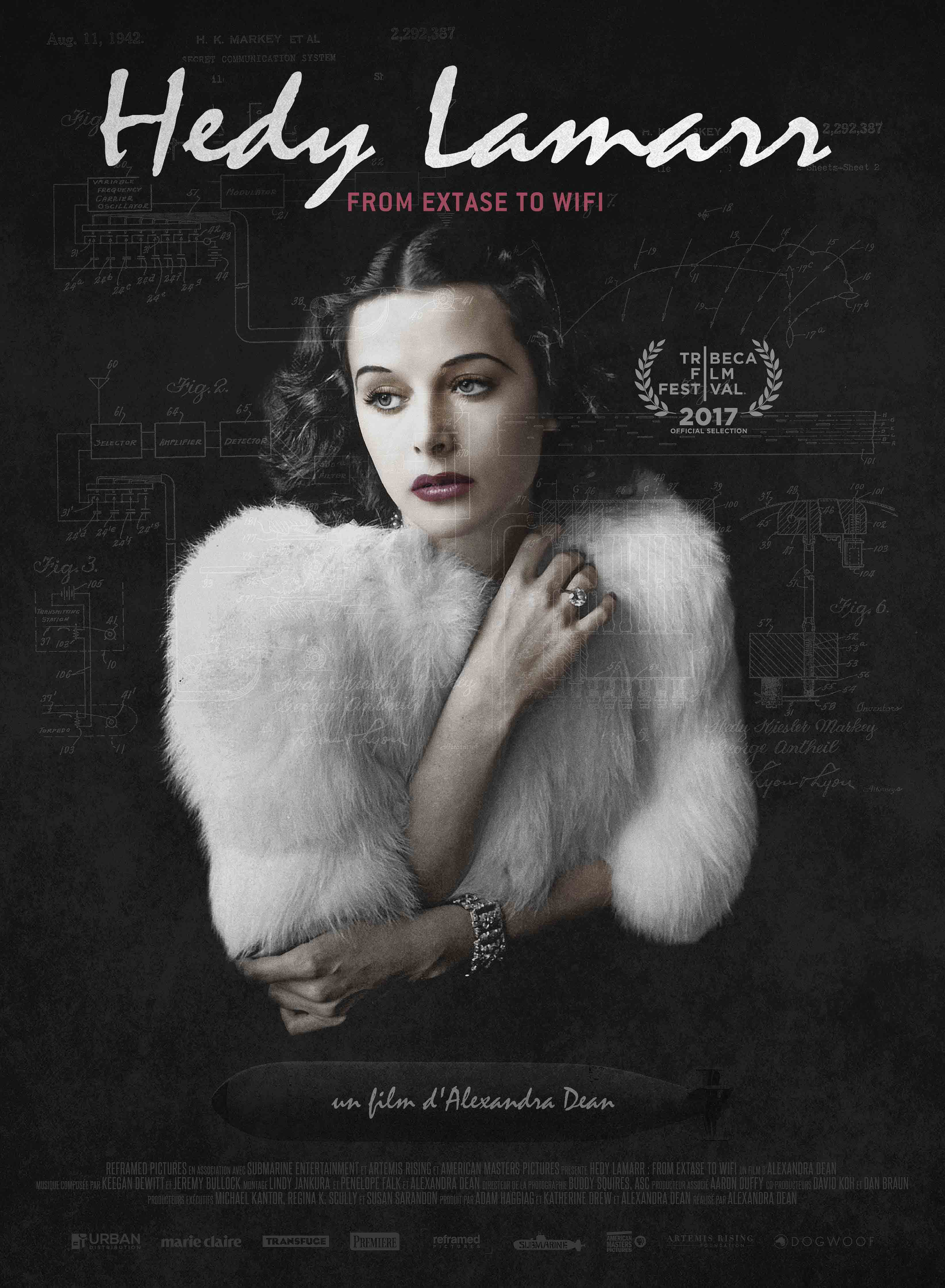 Hedy Lamarr : from Extase to Wifi - Documentaire (2018)