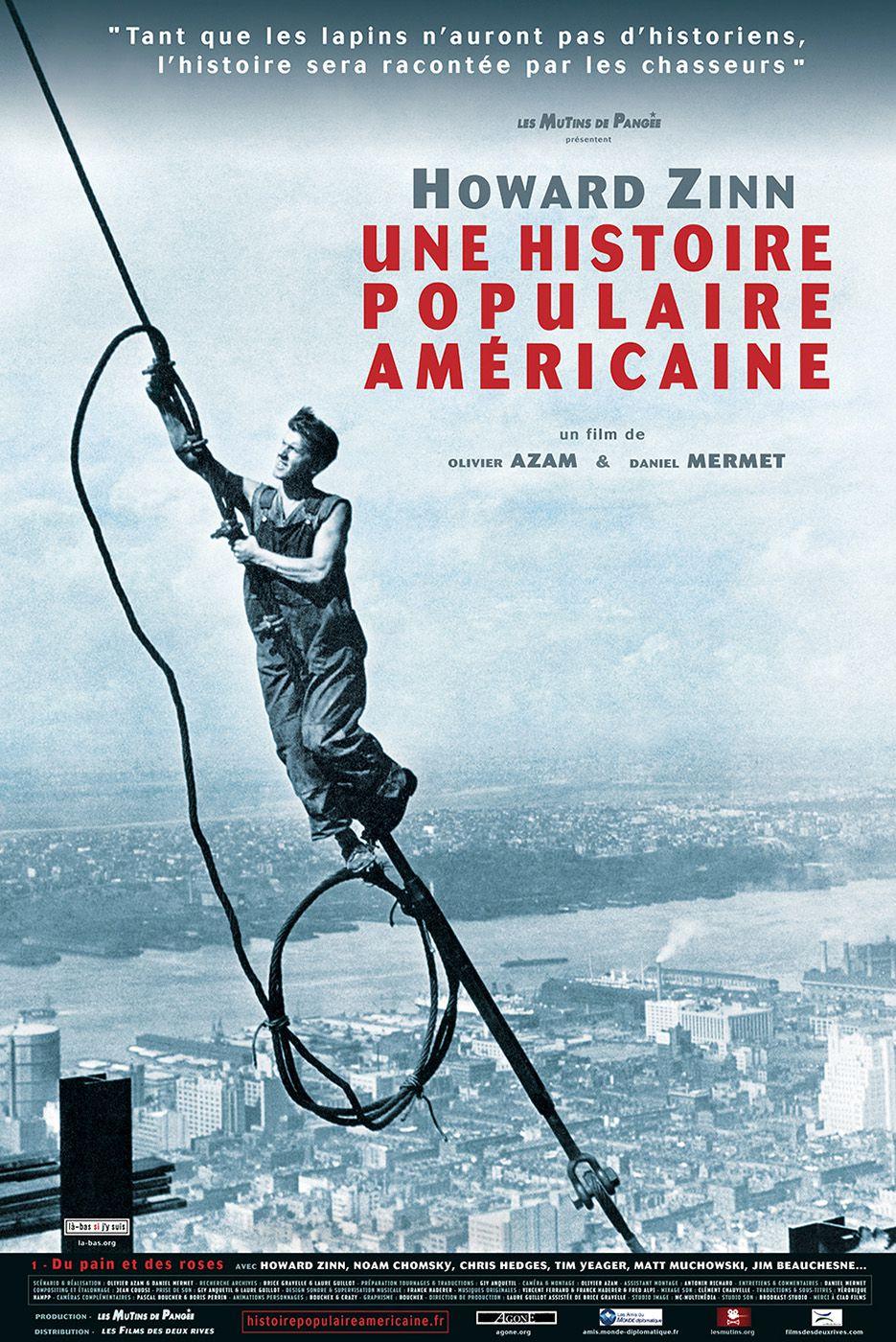 Howard Zinn, une histoire populaire américaine - Documentaire (2015)