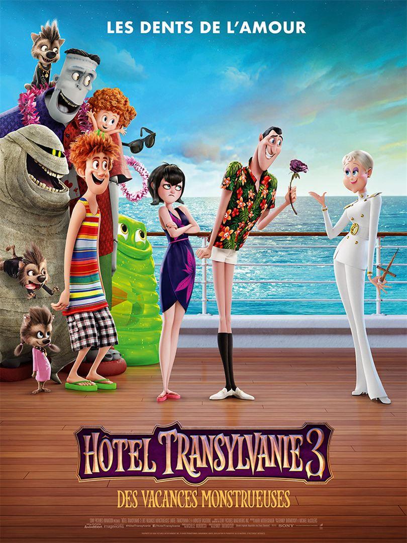 Hôtel Transylvanie 3 : Des vacances monstrueuses - Long-métrage d'animation (2018)