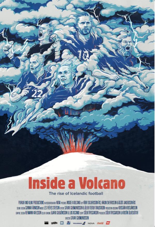 Inside a Volcano : Les yeux dans les bleus d'Islande - Documentaire (2016)