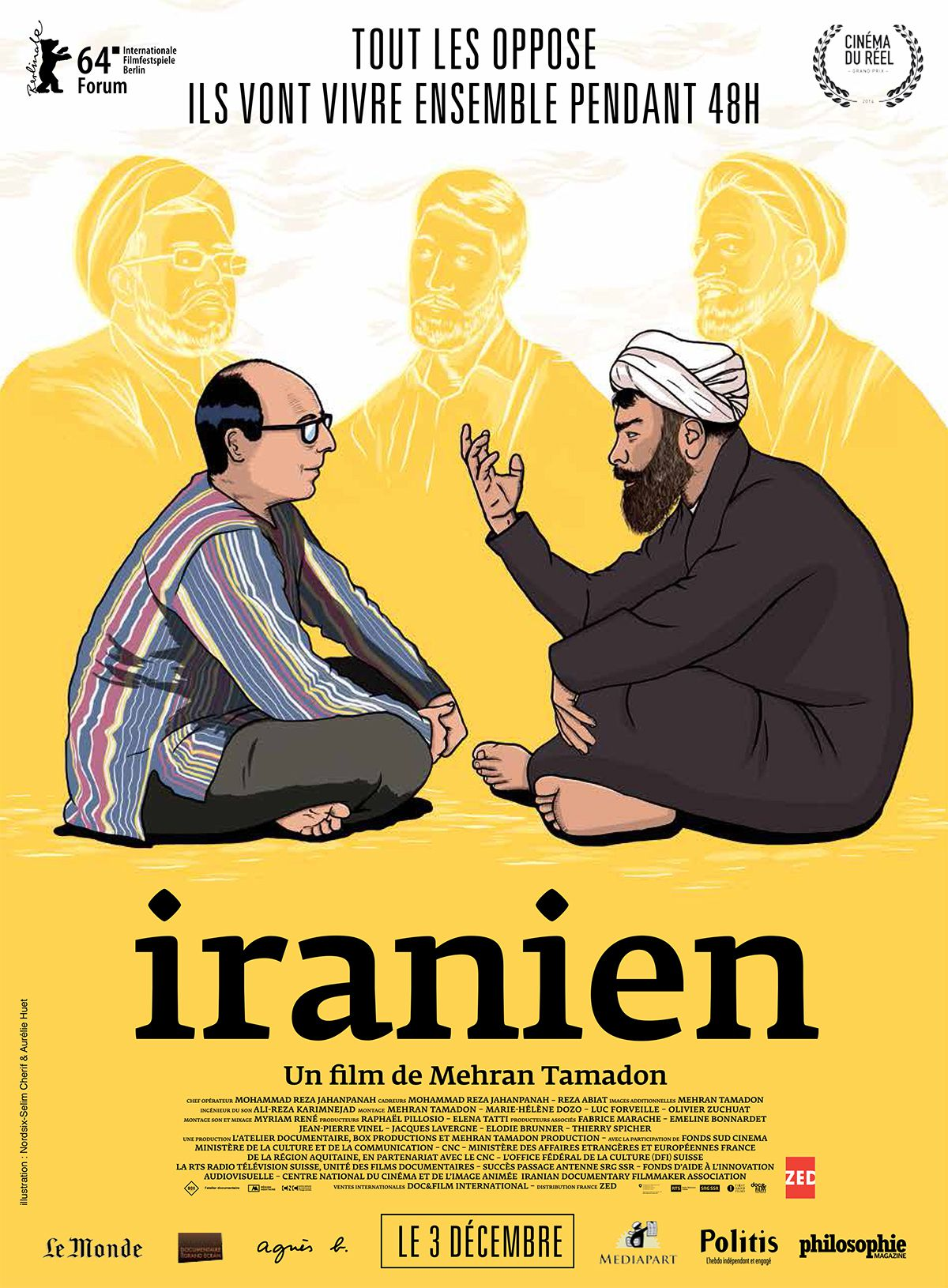 Iranien - Documentaire (2014)