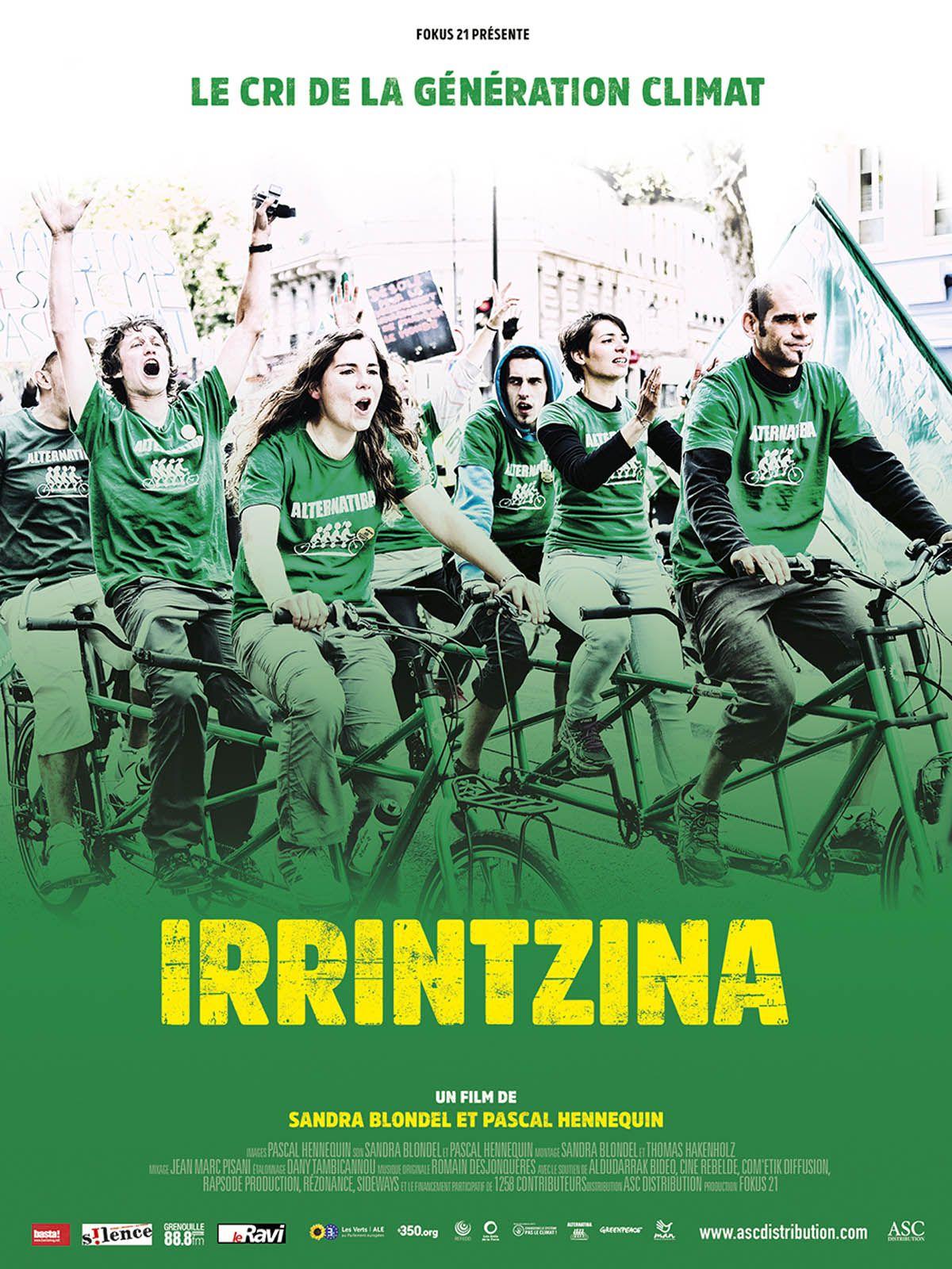 Irrintzina, le cri de la génération climat - Documentaire (2017)