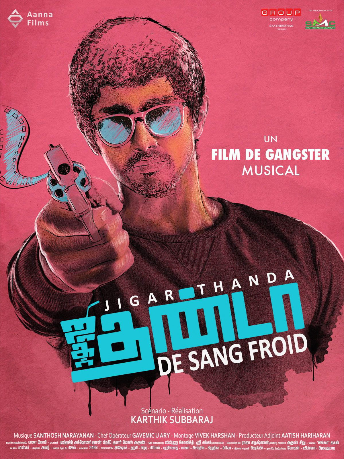 Jigarthanda - De Sang Froid - Film (2014)