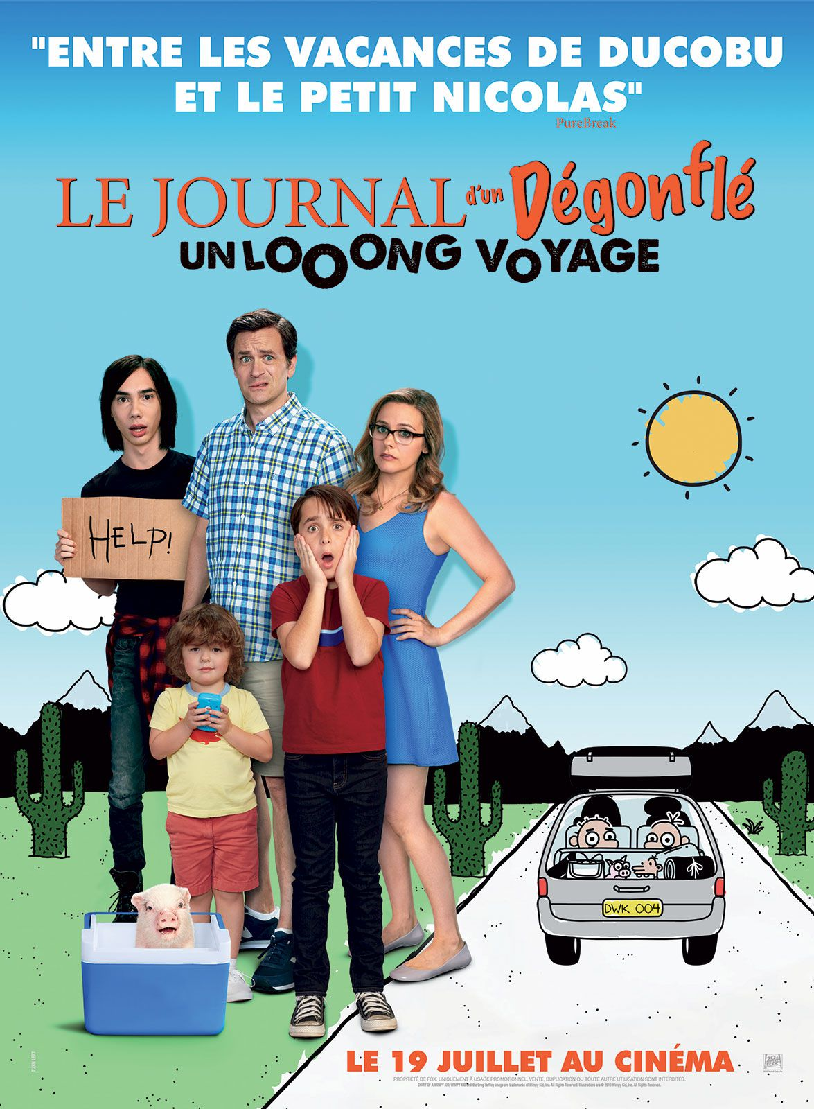Journal d'un dégonflé : Le Long Voyage - Film (2017)