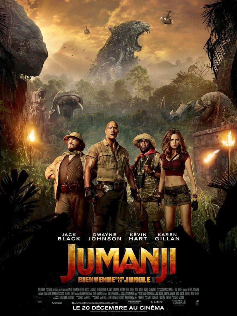 Jumanji : Bienvenue dans la jungle - Film (2017)