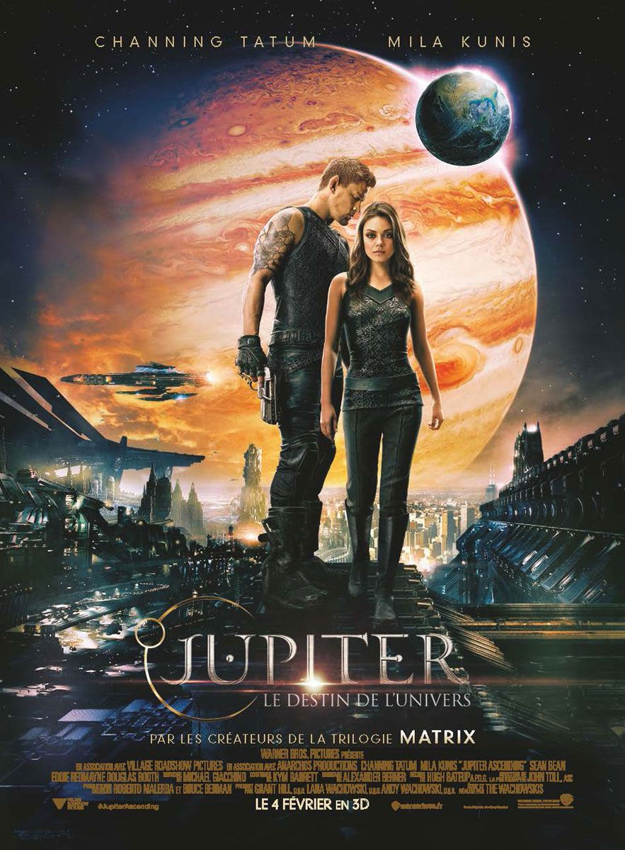 Jupiter : Le Destin de l'univers - Film (2015)
