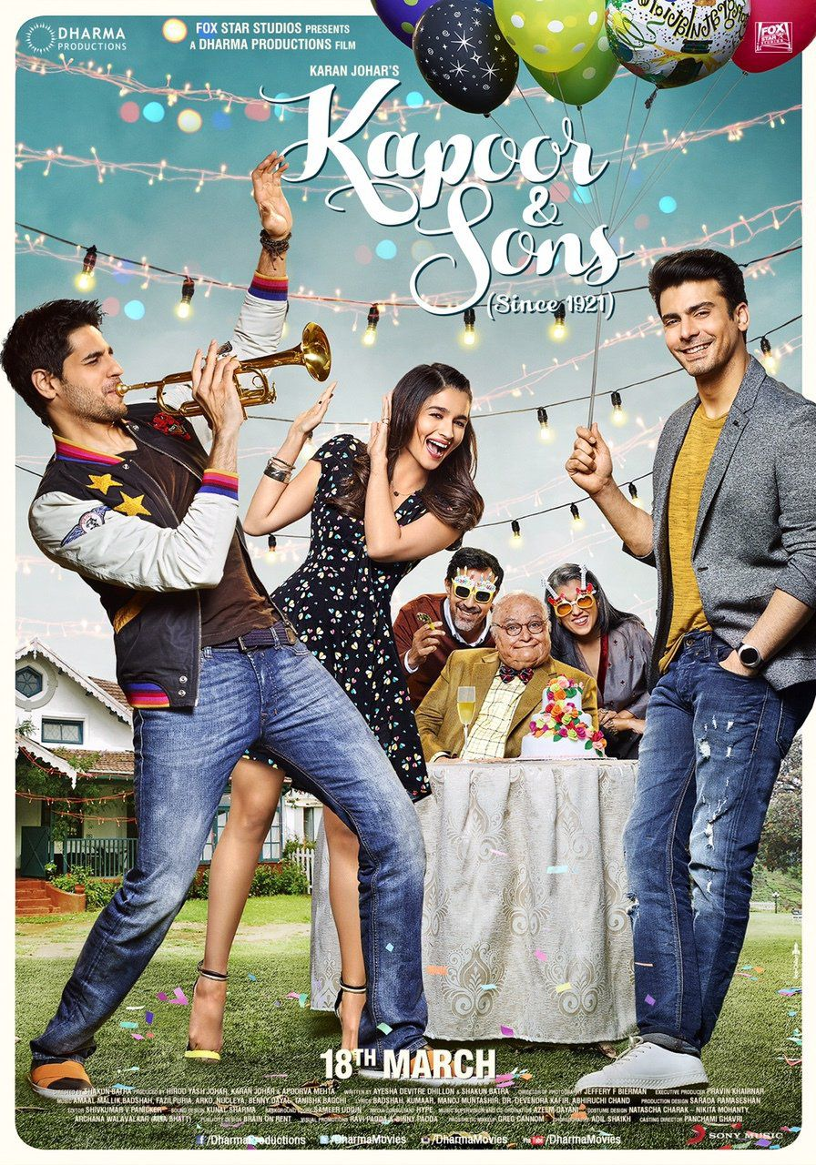 Kapoor and Sons - Film (2016)