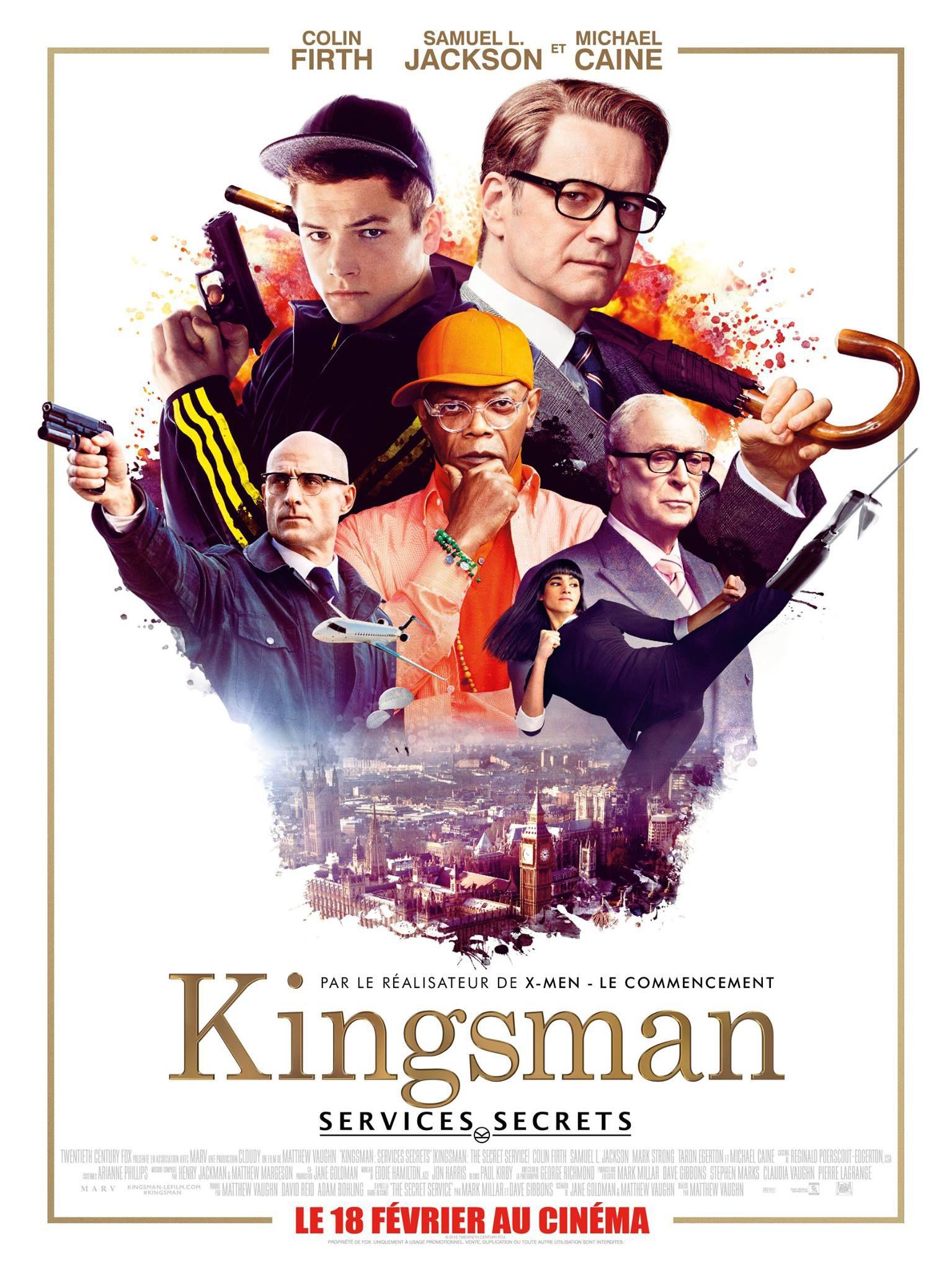 Kingsman : Services secrets - Film (2015)