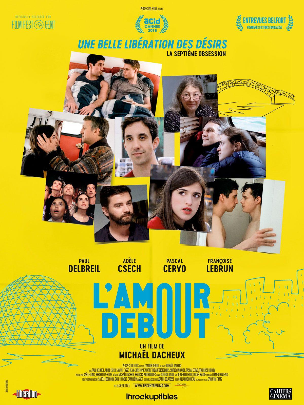 L'Amour debout - Film (2019)