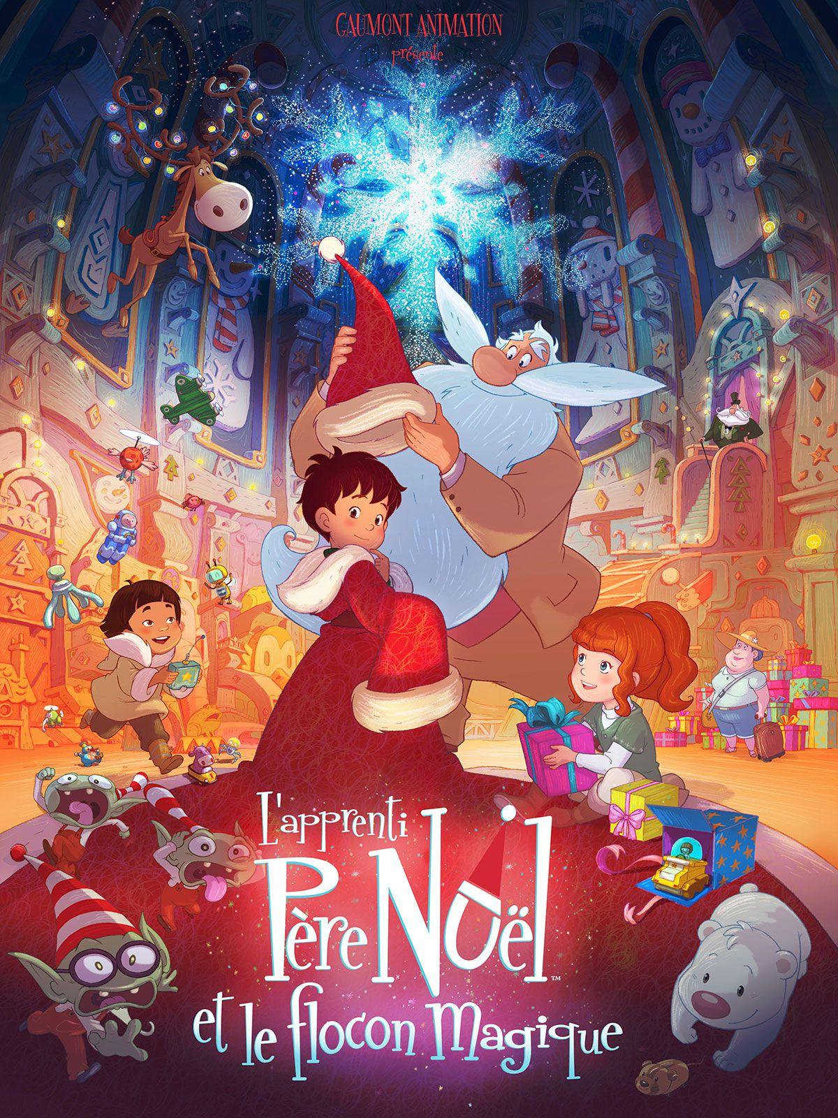 L'Apprenti Père Noël et le Flocon magique - Long-métrage d'animation (2013)