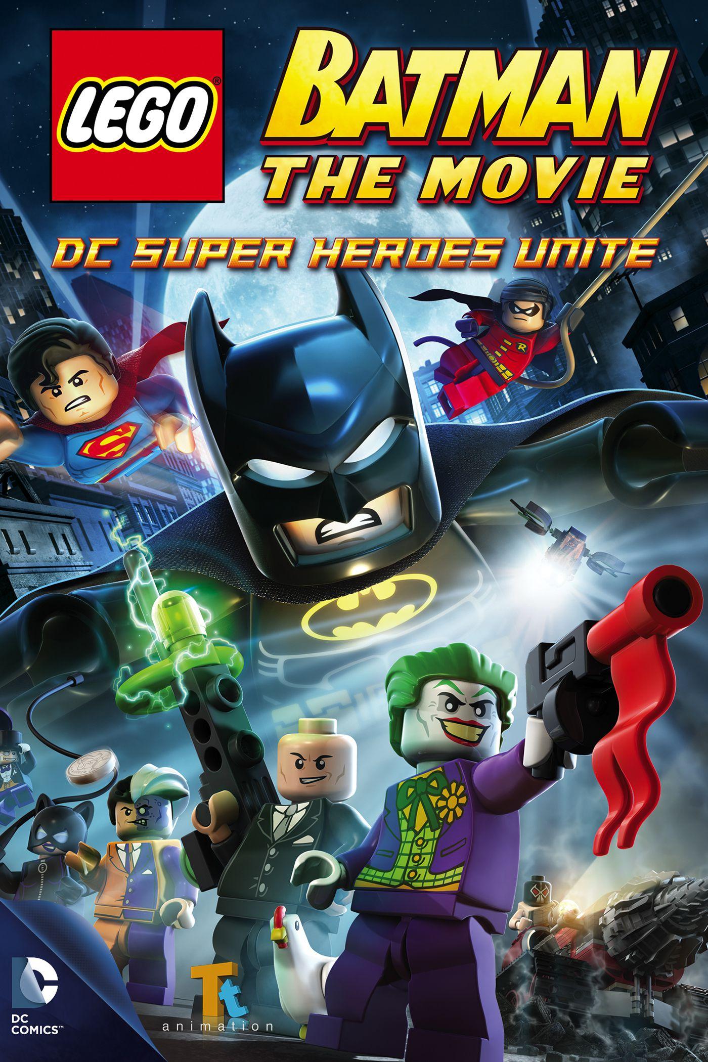 LEGO Batman : Le Film - Unité des Super-Héros - Long-métrage d'animation (2013)