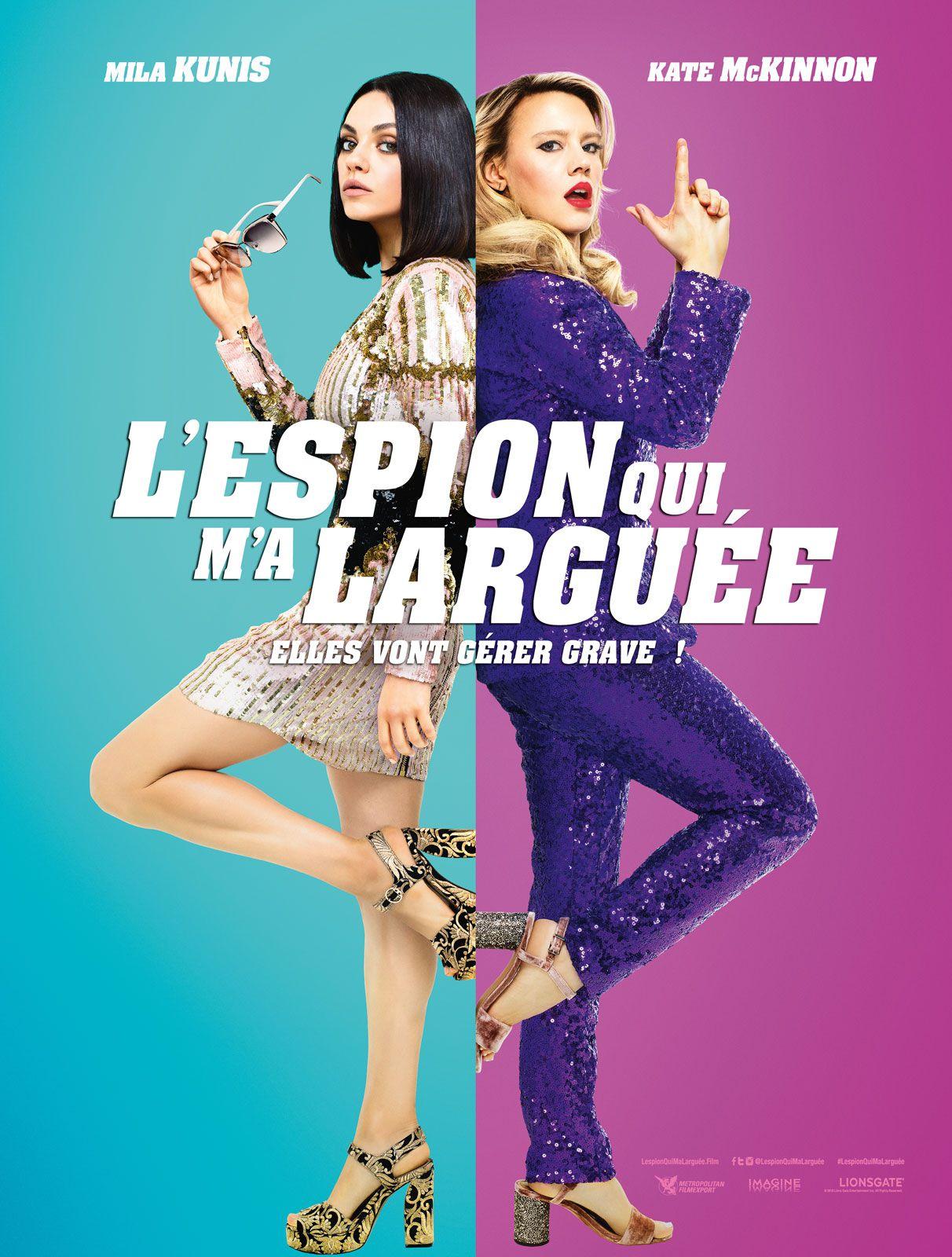 L'Espion qui m'a larguée - Film (2018)