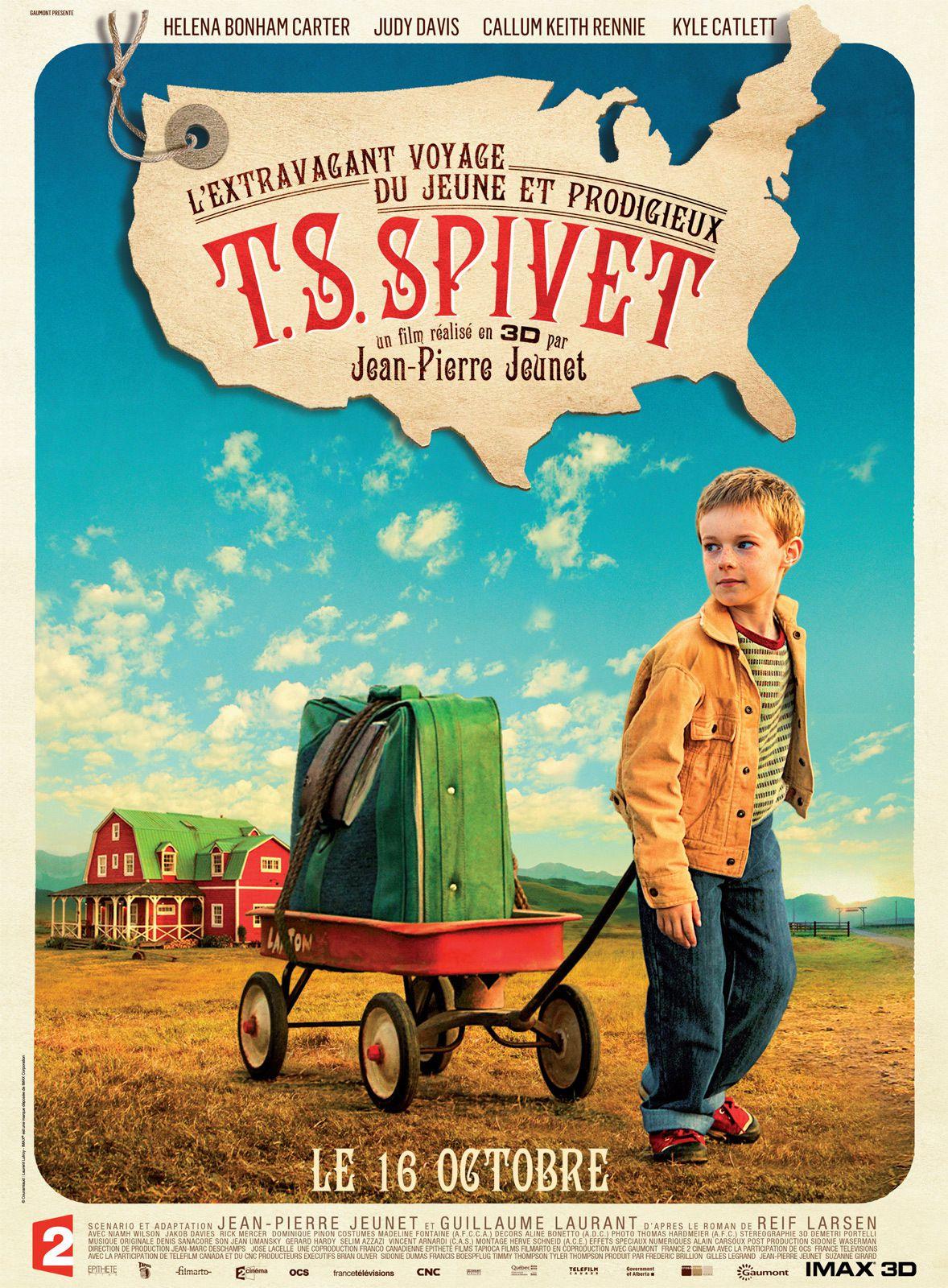 L'Extravagant Voyage du jeune et prodigieux T.S. Spivet - Film (2013)