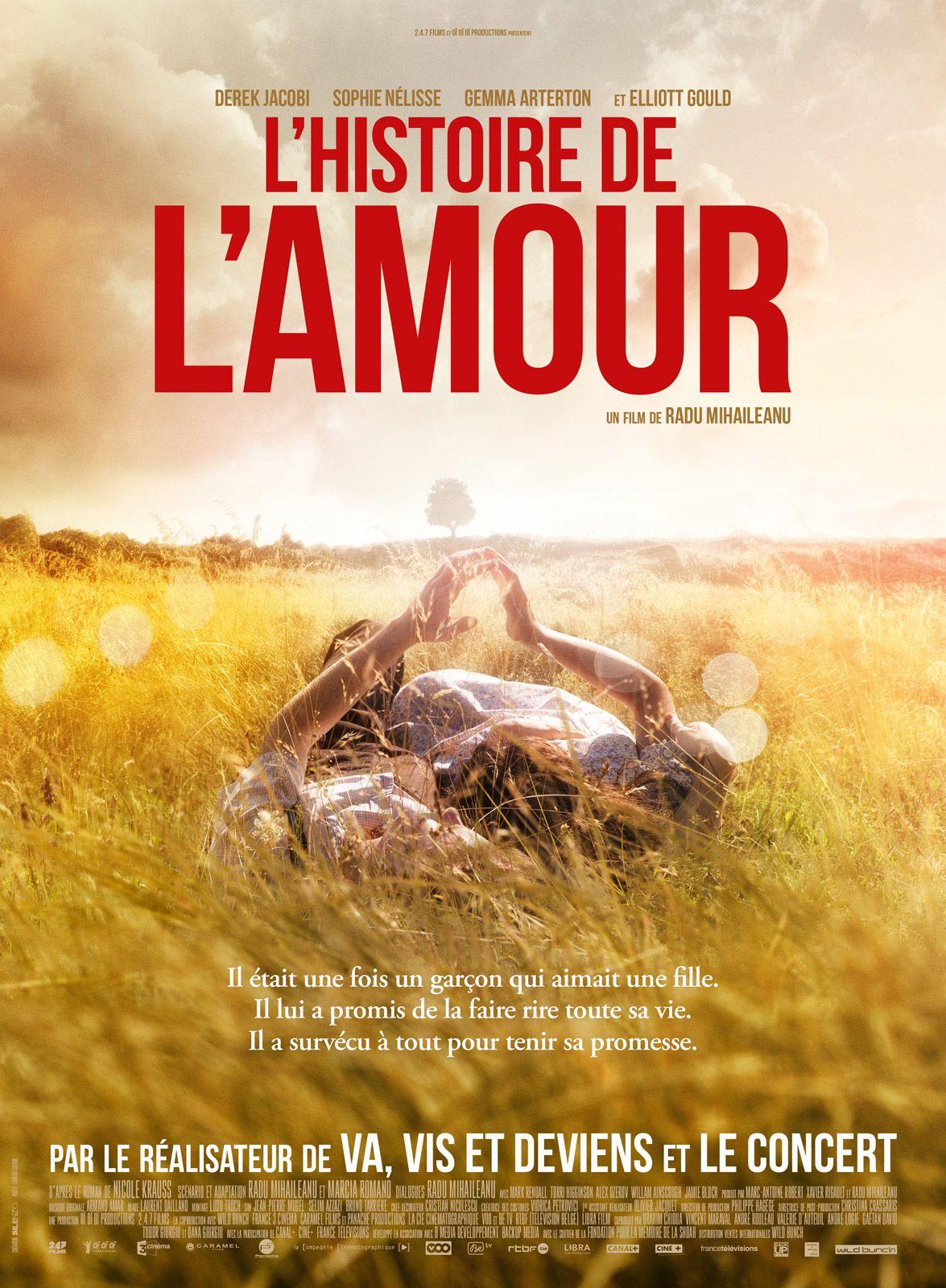 L'Histoire de l'amour - Film (2016)