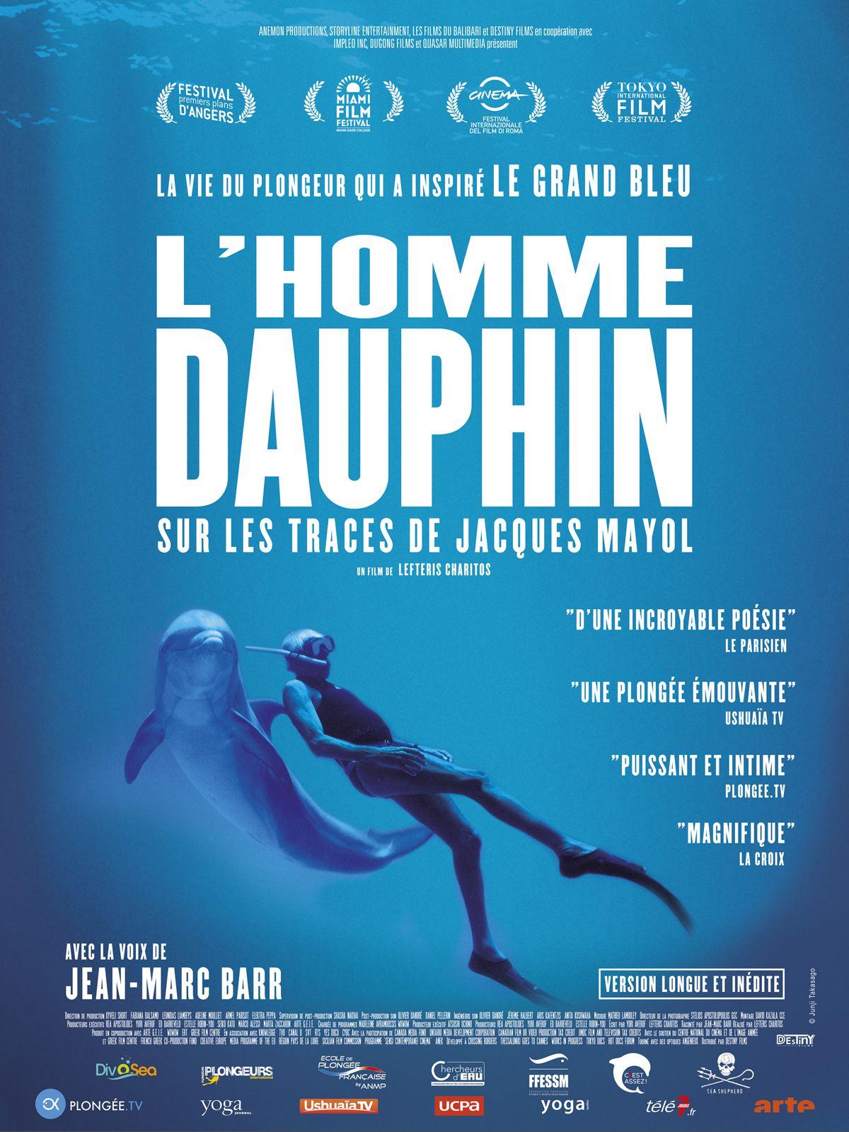 L'Homme dauphin, sur les traces de Jacques Mayol - Documentaire (2018)