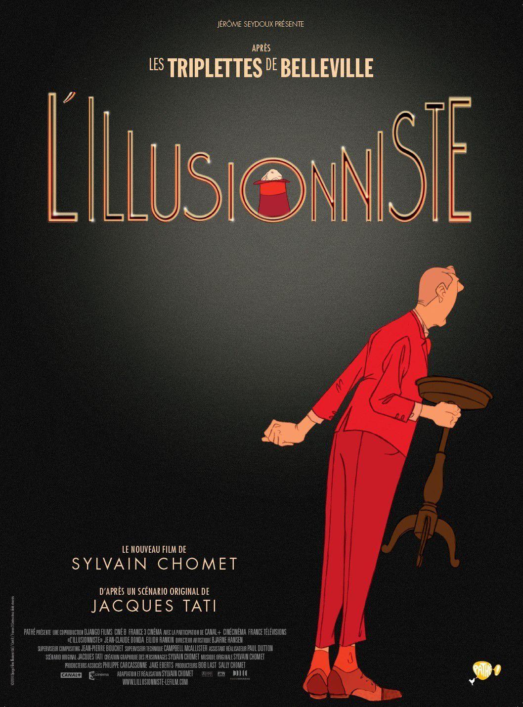 L'Illusionniste - Long-métrage d'animation (2010)