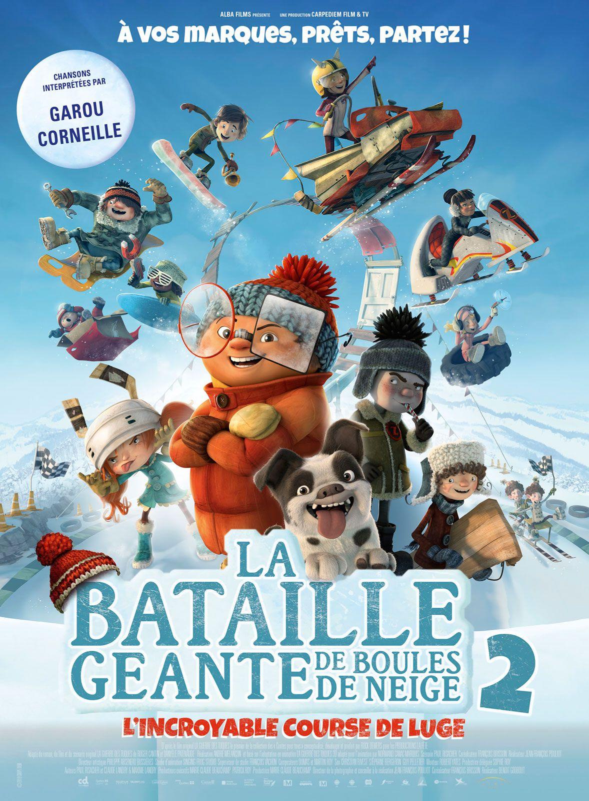 La Bataille géante de boules de neige 2 : L'Incroyable Course de luge - Film (2020)