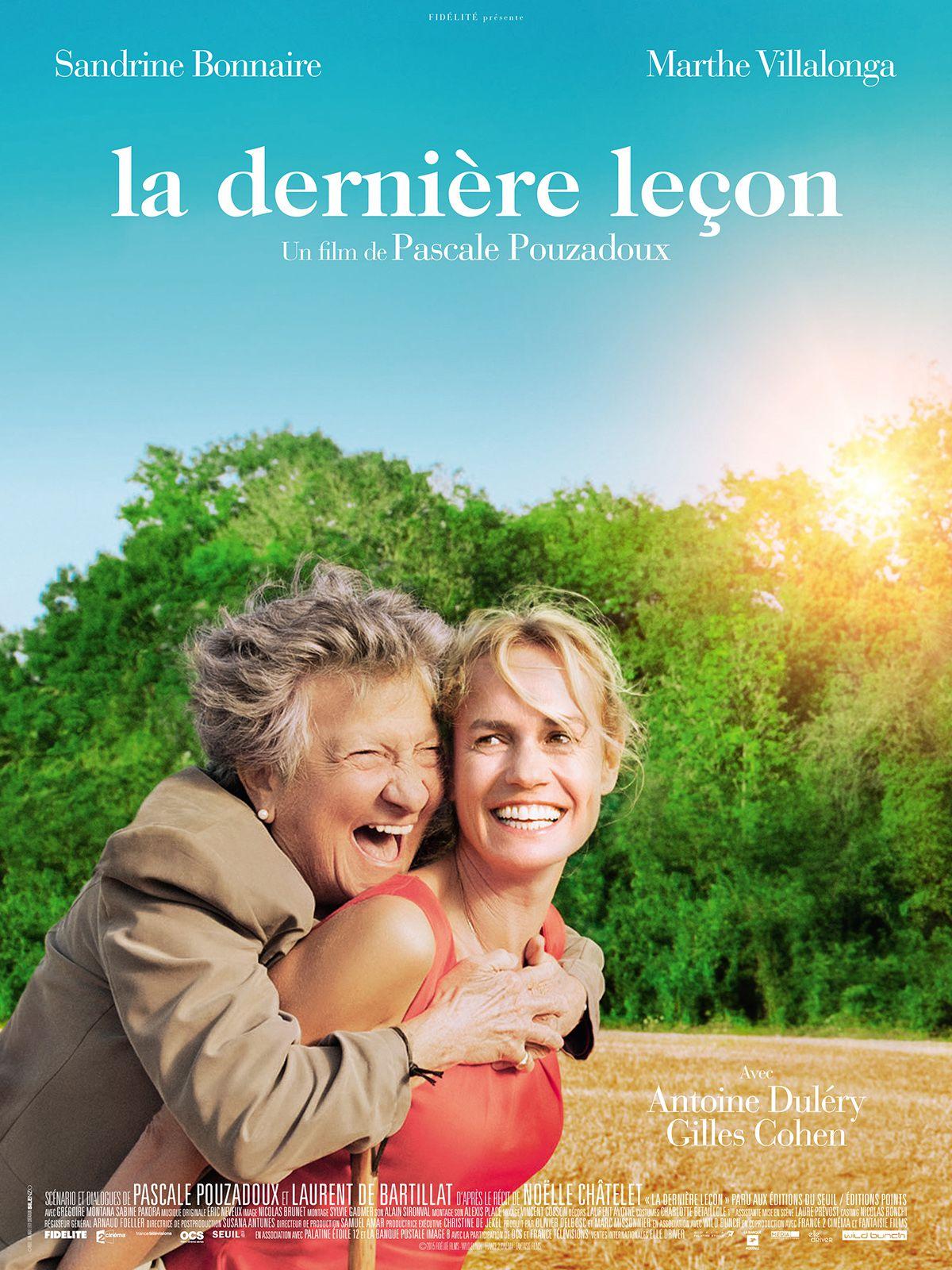La Dernière Leçon - Film (2015)