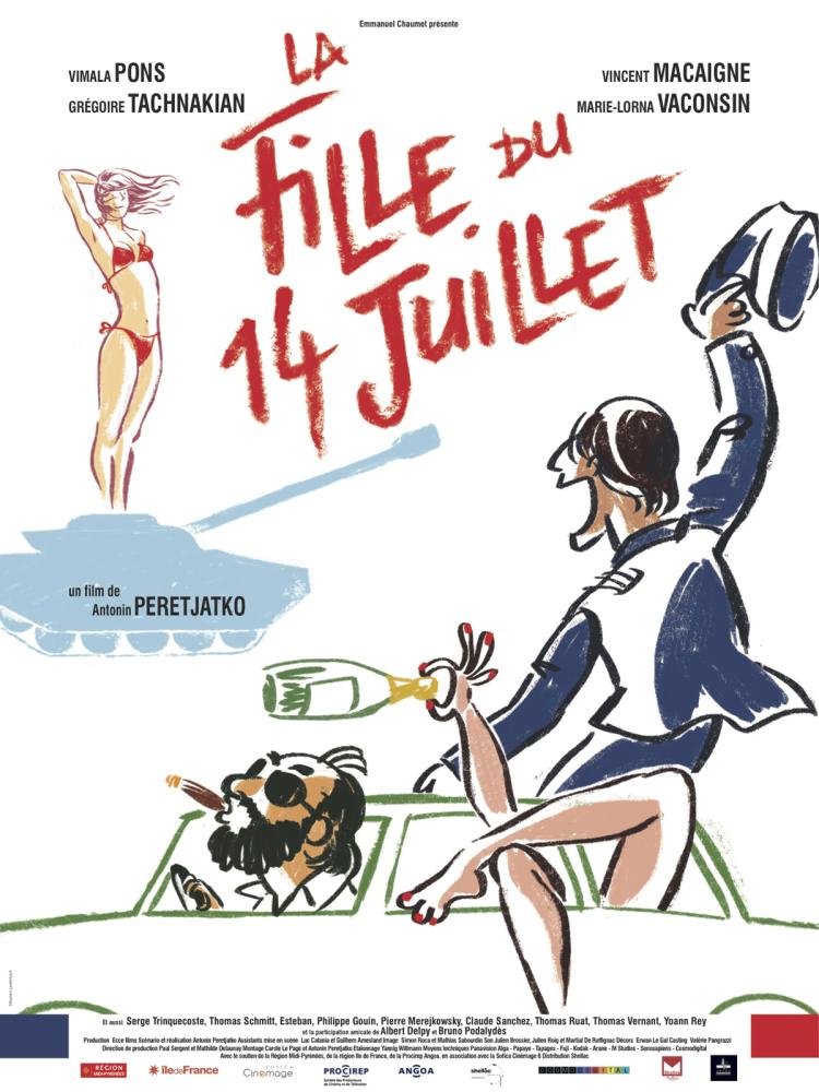La Fille du 14 juillet - Film (2013)