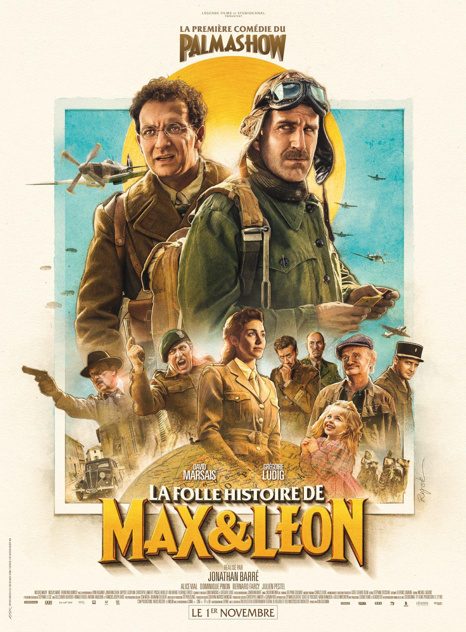 La Folle Histoire de Max & Léon - Film (2016)