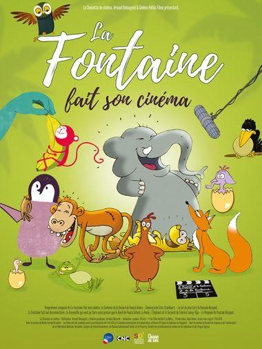 La Fontaine fait son cinéma - Long-métrage d'animation (2017)