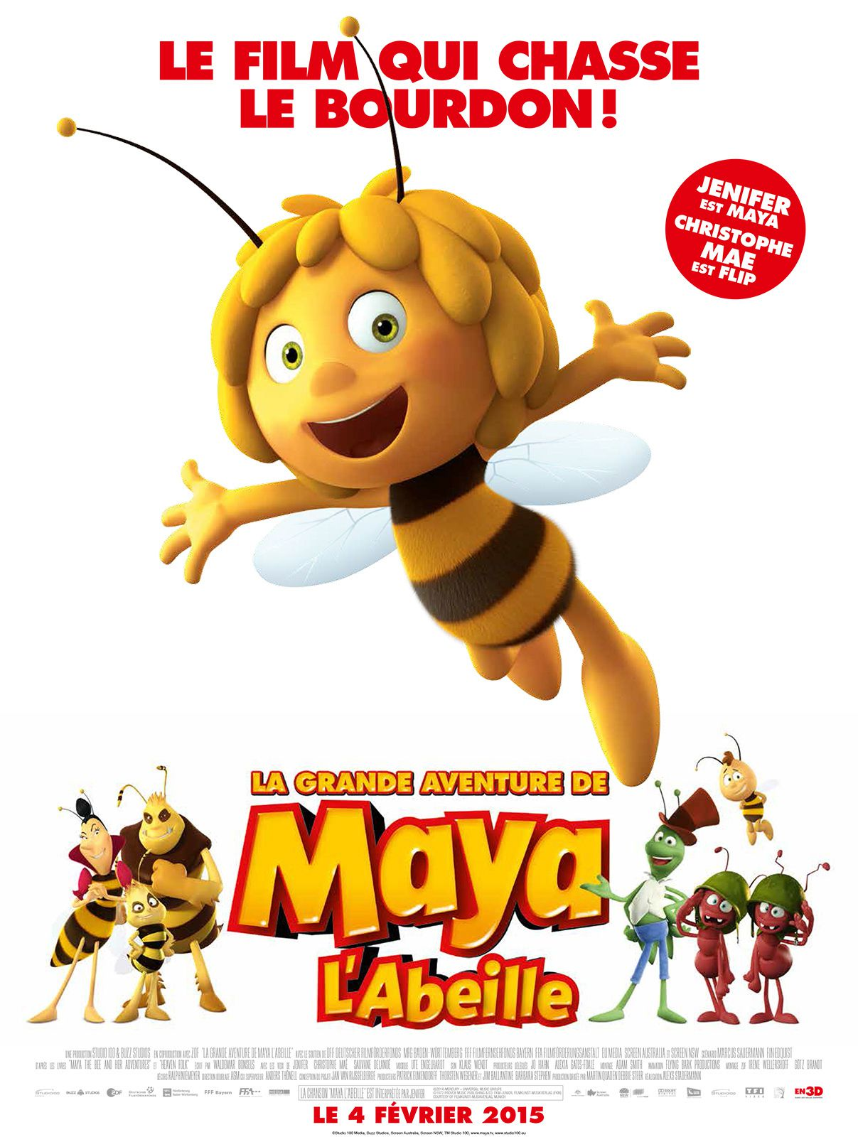 La Grande Aventure de Maya l'Abeille - Film (2015)