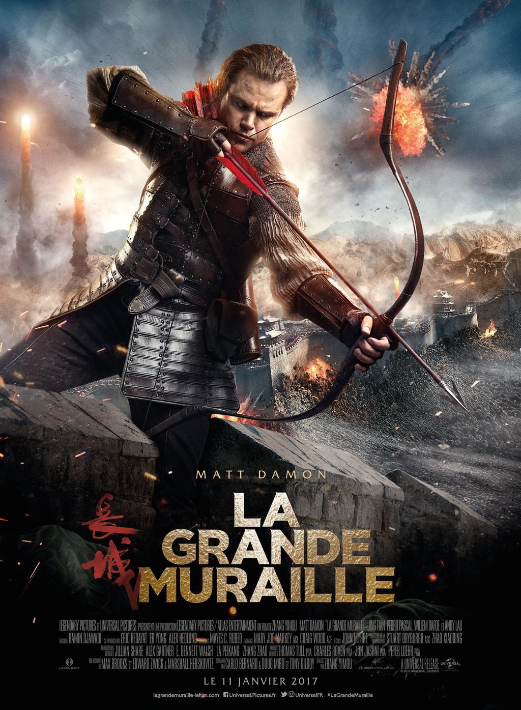 La Grande Muraille - Film (2016)