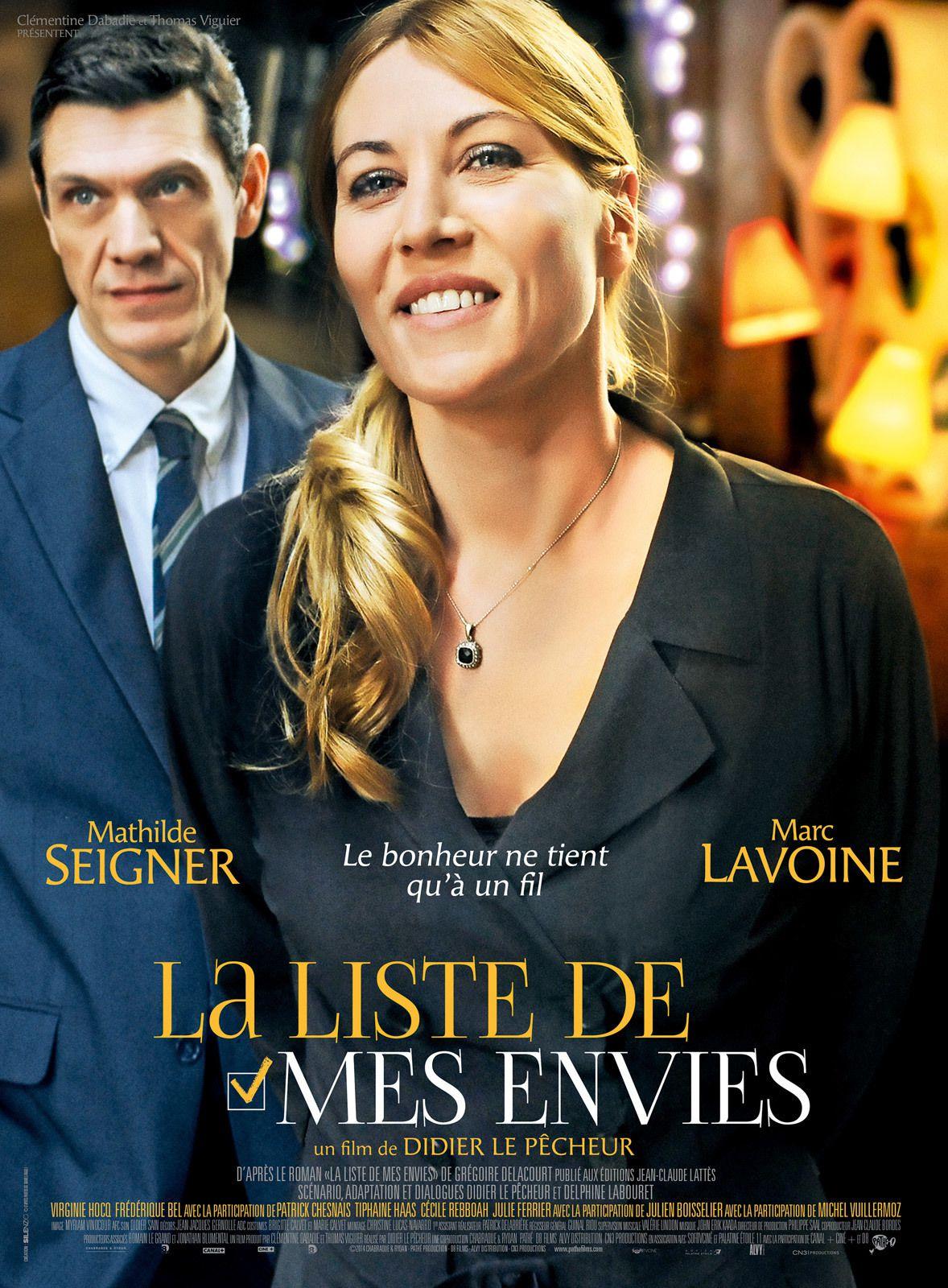La Liste de mes envies - Film (2014)