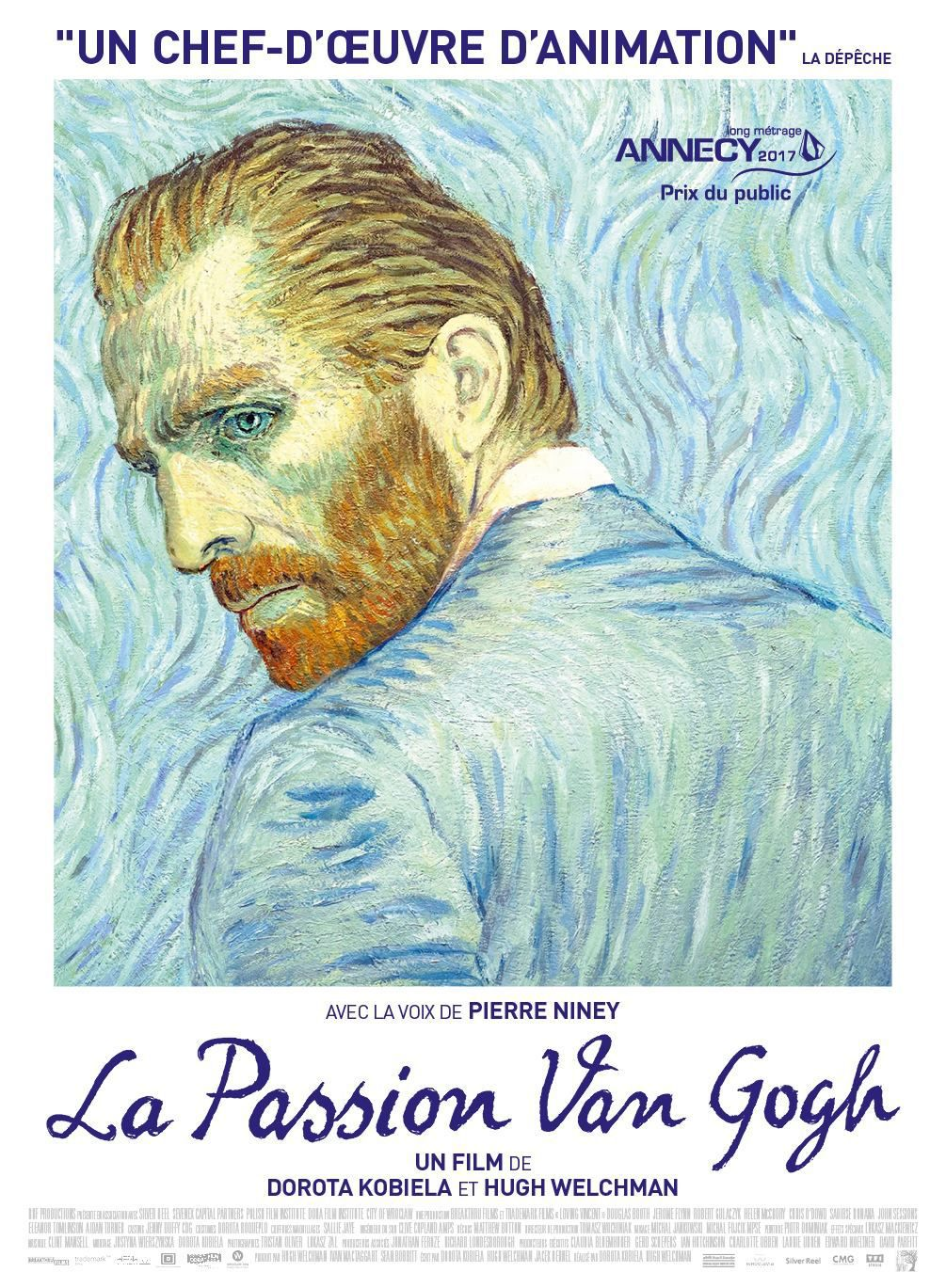 La Passion Van Gogh - Long-métrage d'animation (2017)
