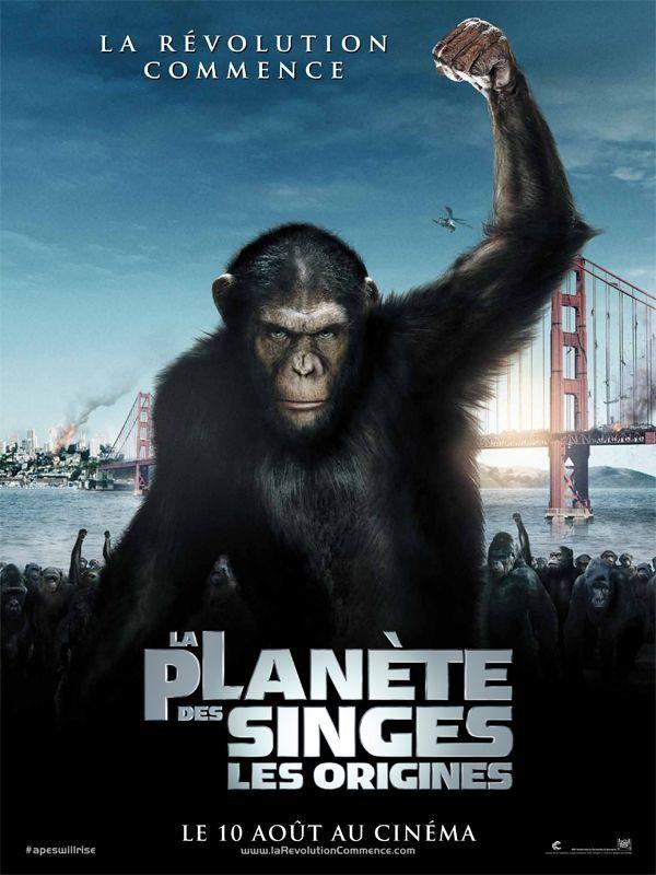 La Planète des singes : les origines - Film (2011)