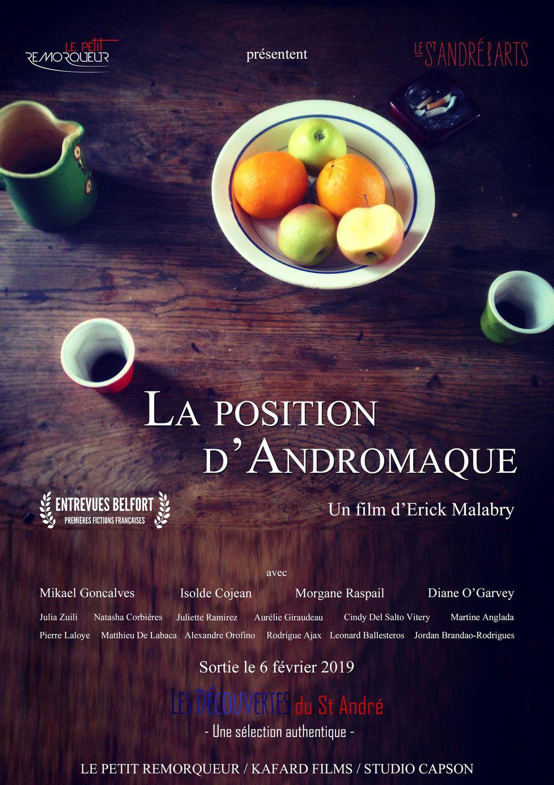 La Position d'Andromaque - Film (2019)