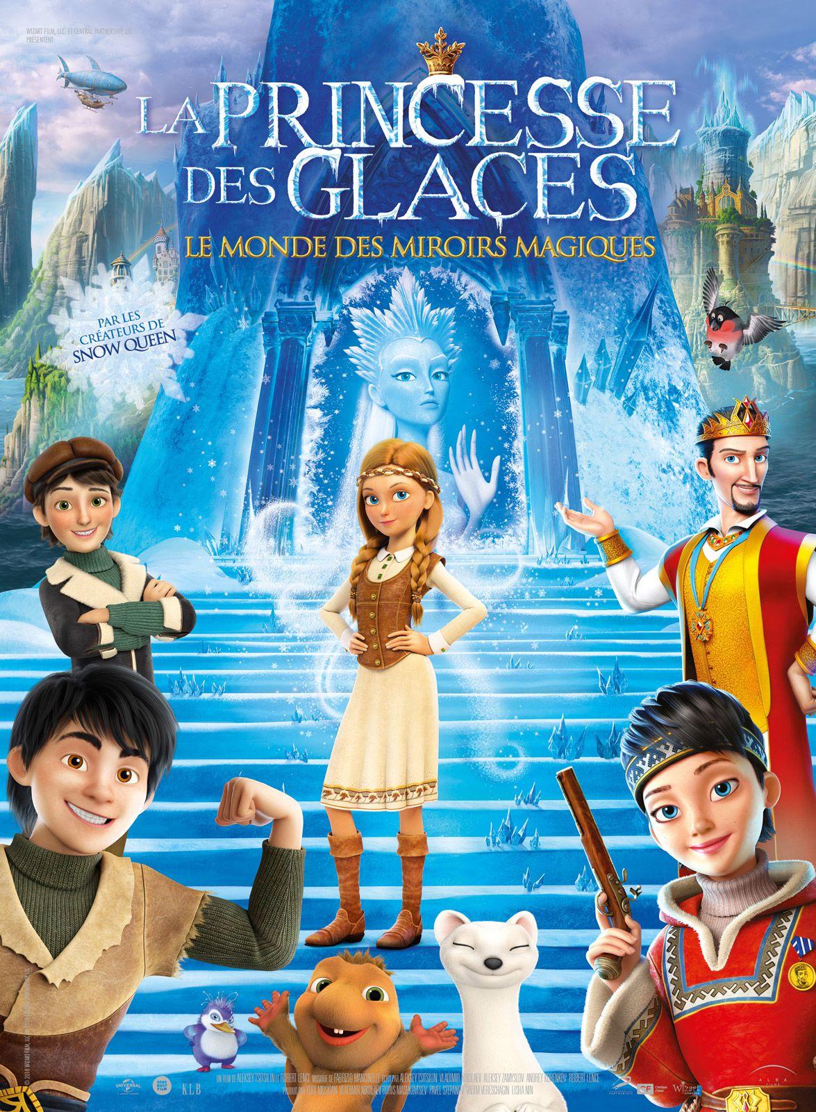 La Princesse des glaces, le monde des miroirs magiques - Long-métrage d'animation (2019)