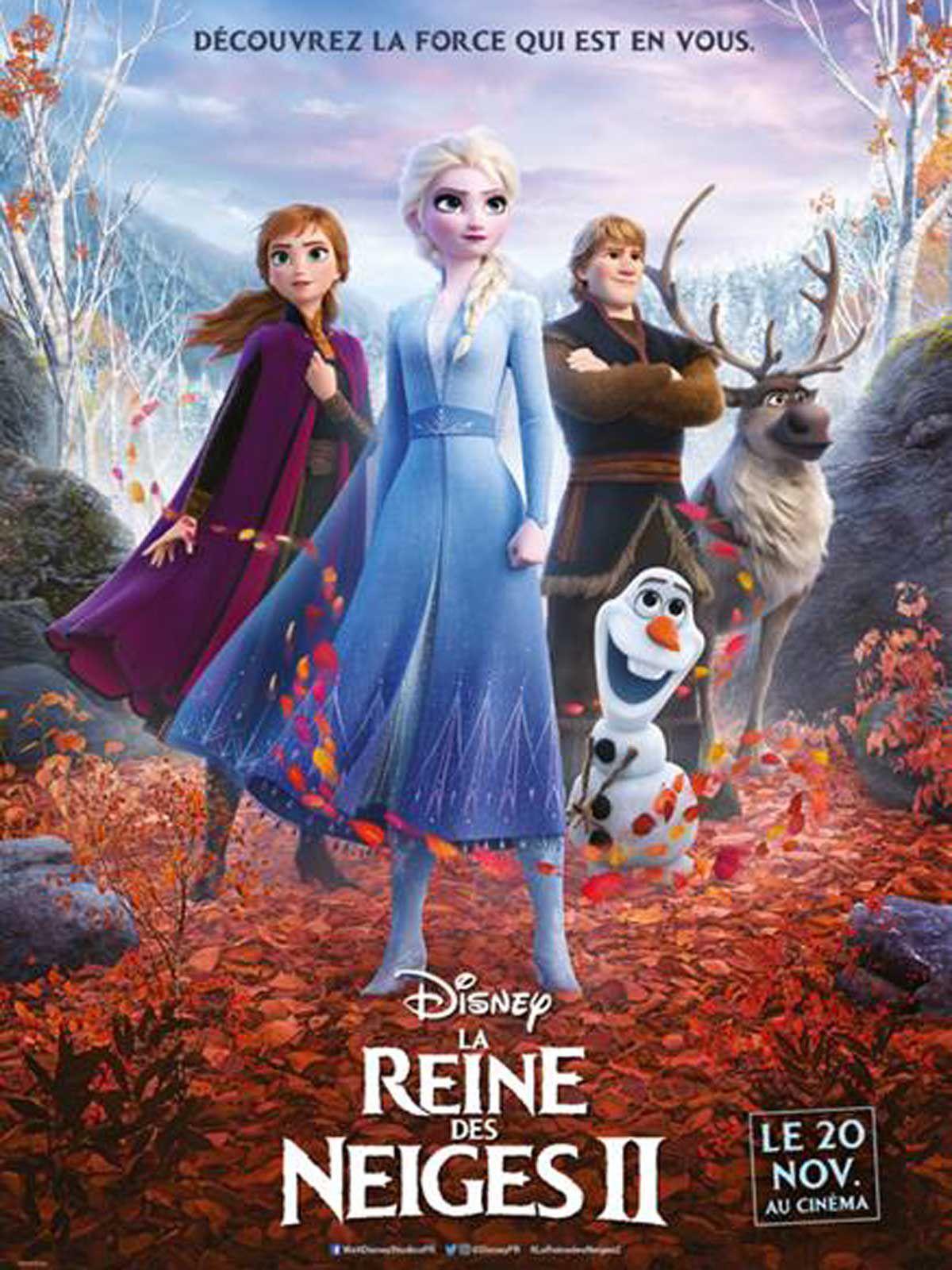La Reine des Neiges II - Long-métrage d'animation (2019)