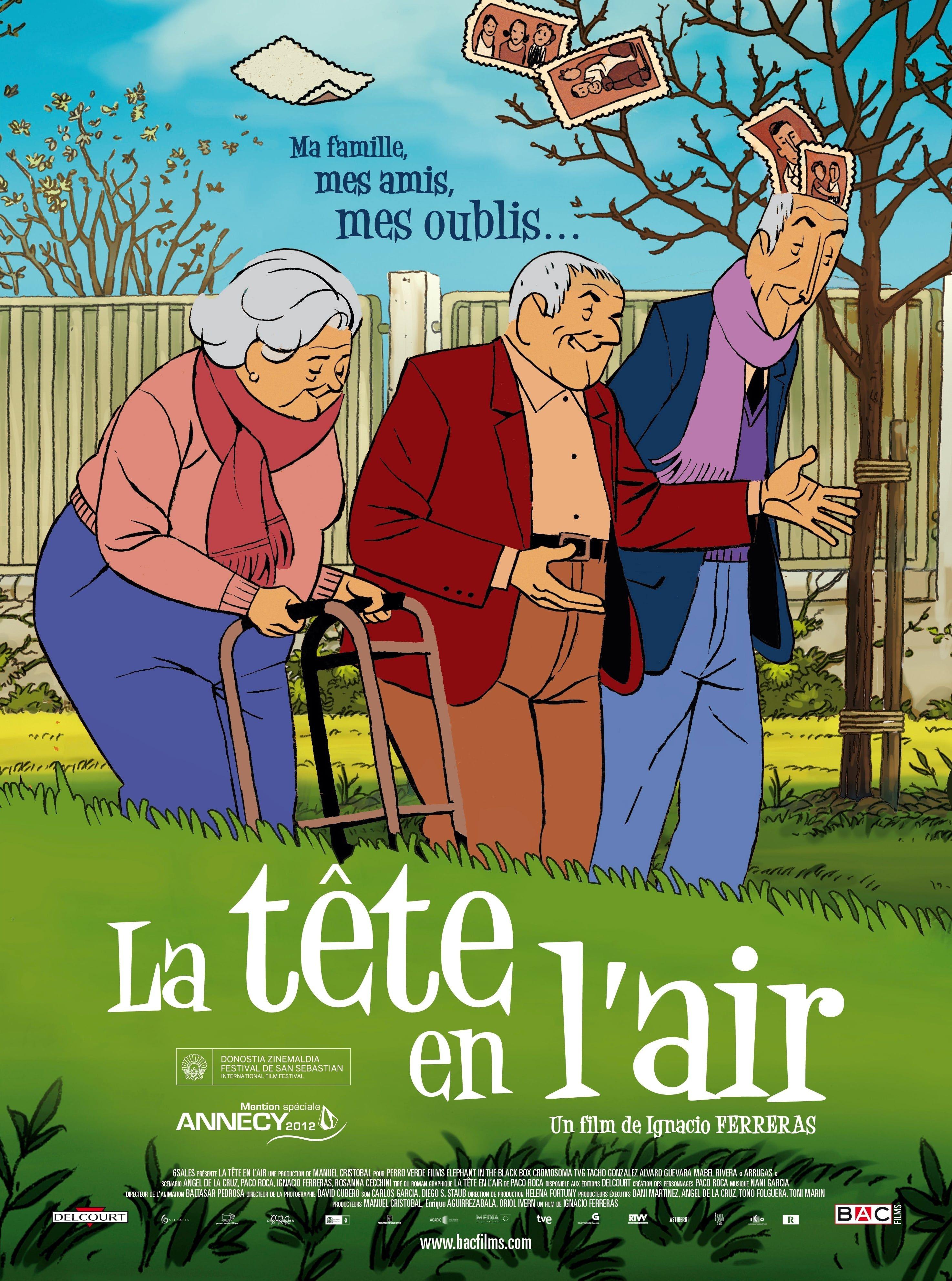 La Tête en l'air - Long-métrage d'animation (2013)