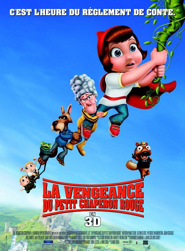 La Vengeance du petit chaperon rouge - Long-métrage d'animation (2008)