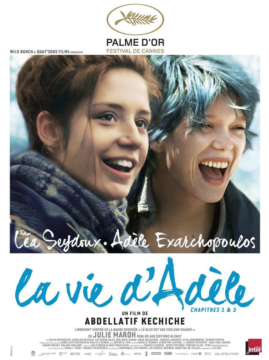 La Vie d'Adèle : Chapitres 1 et 2 - Film (2013)