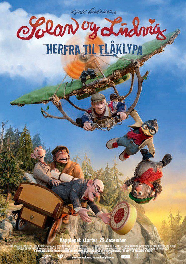 La grande course au fromage - Long-métrage d'animation (2015)