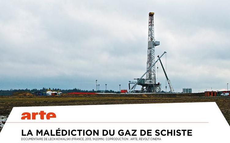 La malédiction du gaz de schiste - Documentaire (2013)