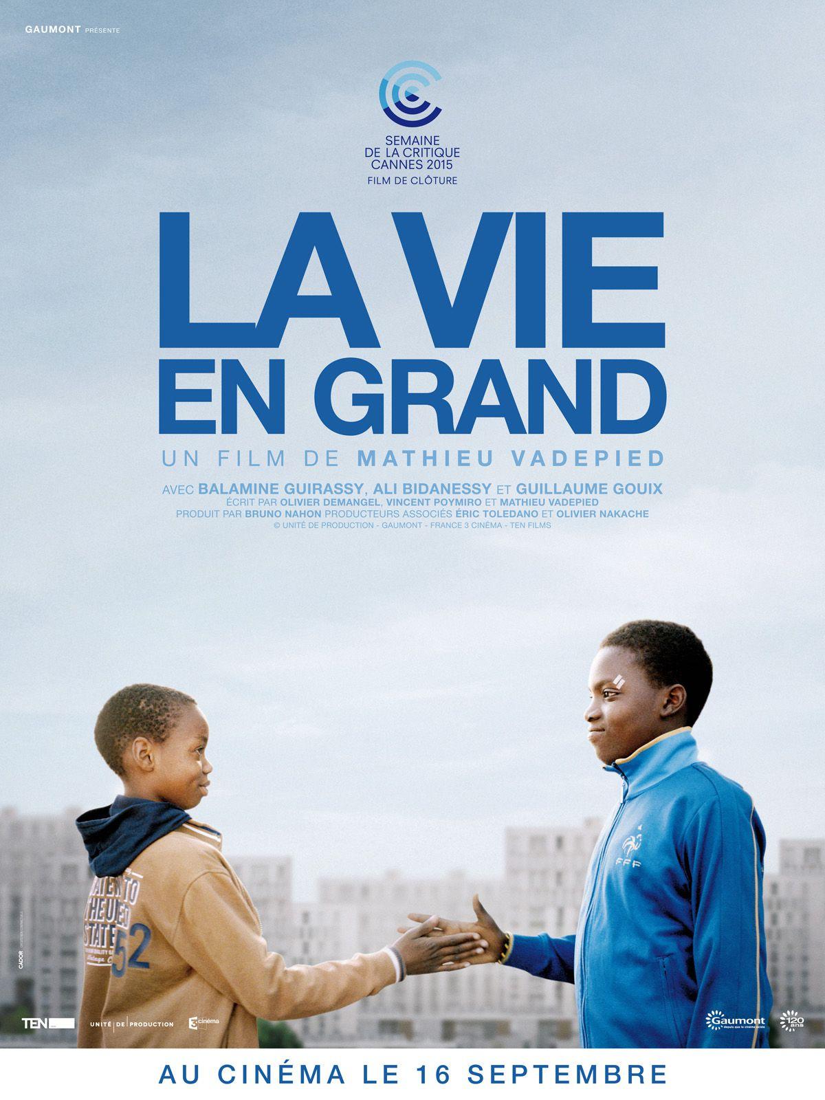 La vie en grand - Film (2015)