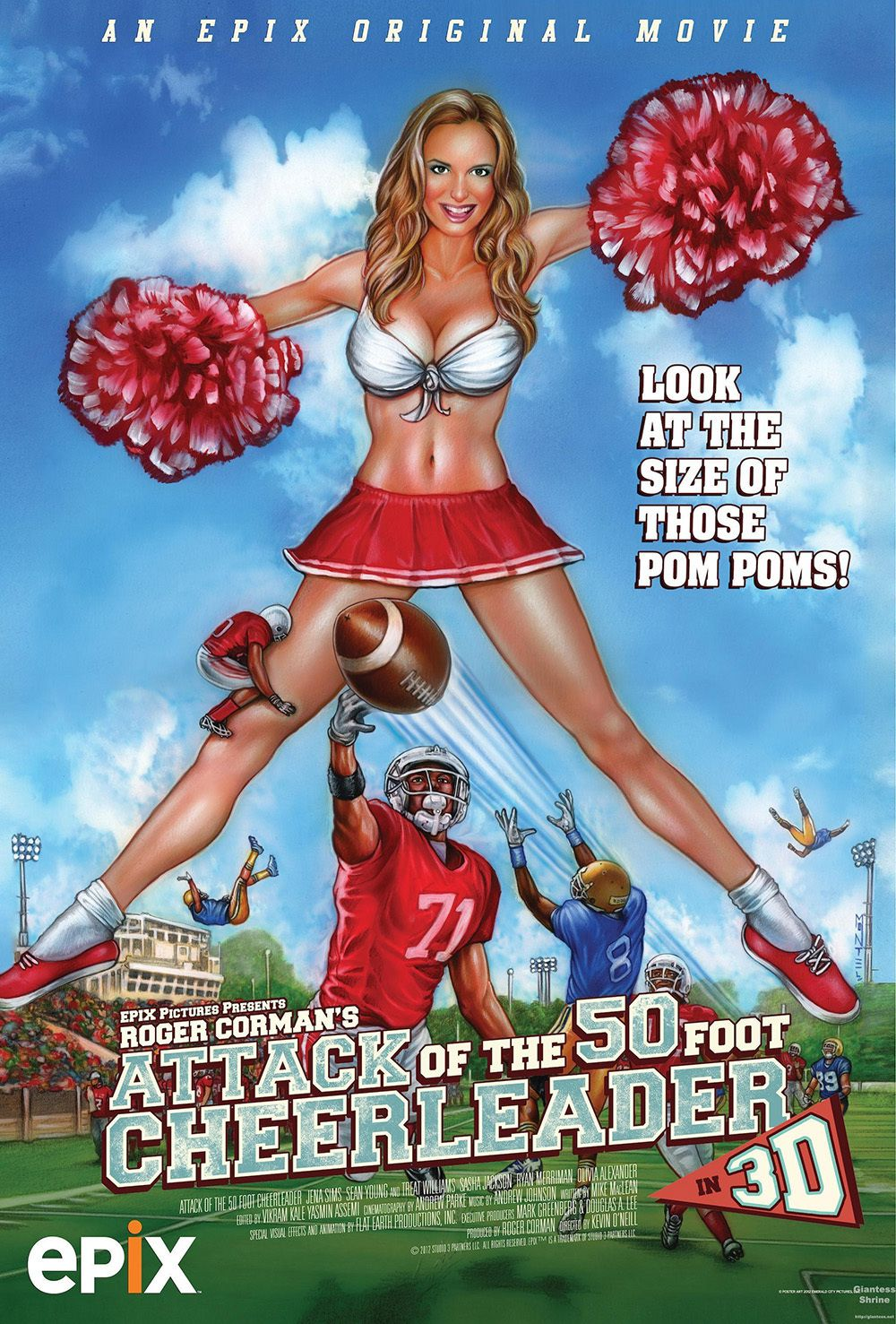 L'attaque de la pom-pom girl géante - Film (2012)
