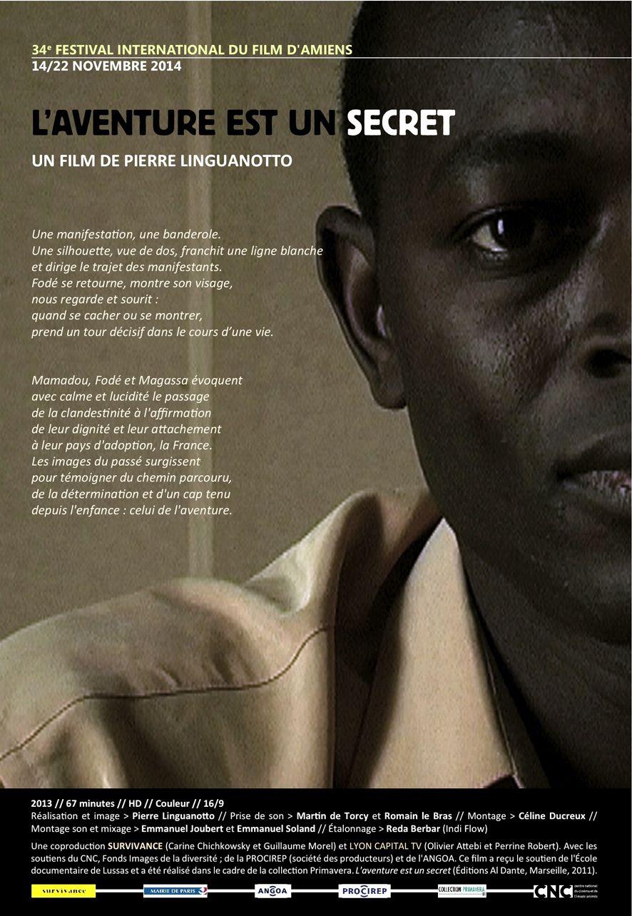 L'aventure est un secret - Documentaire (2013)