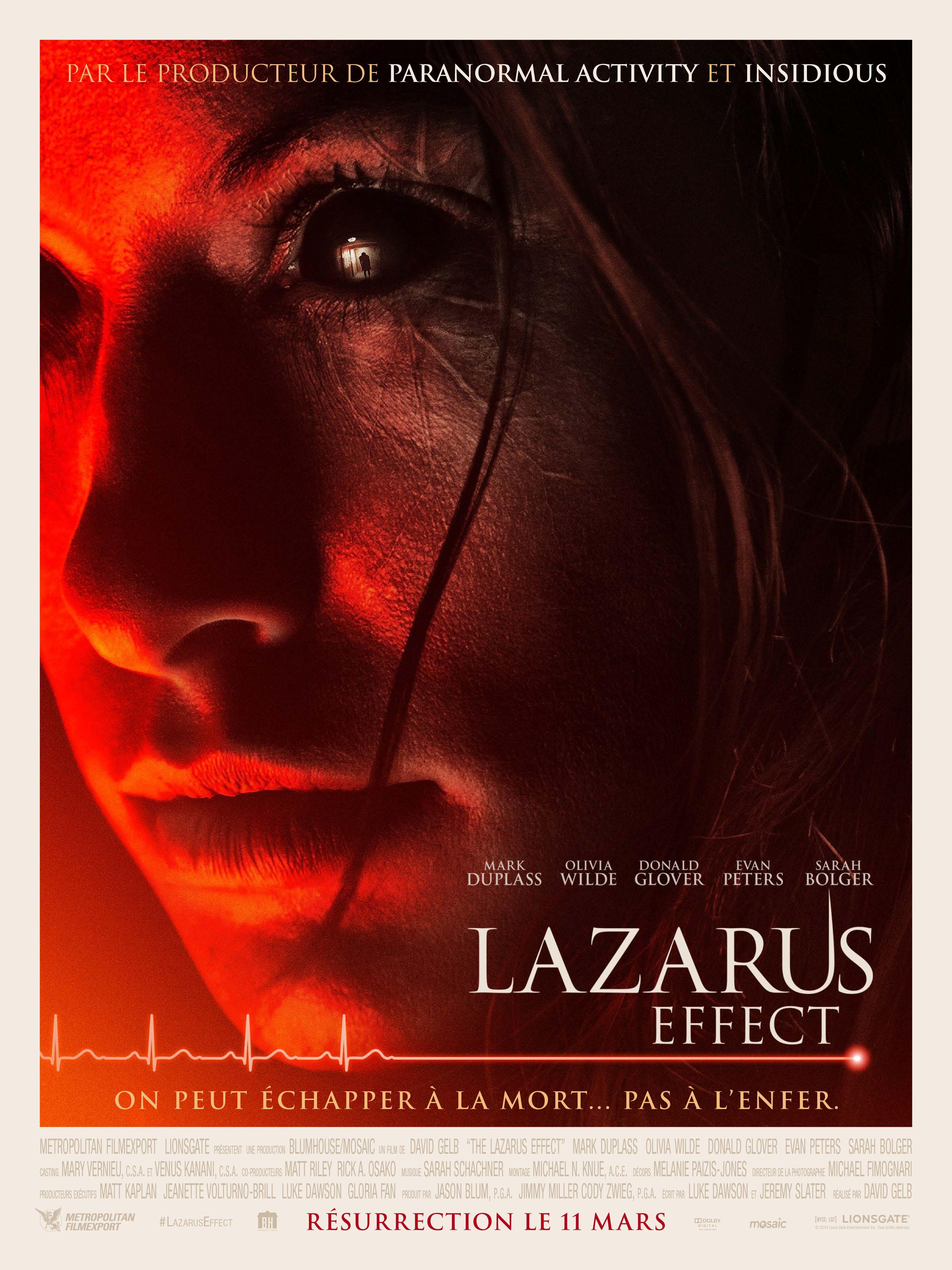 Lazarus Effect - Film (2015)