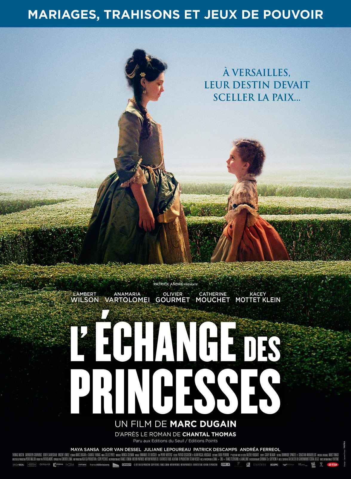 L'Échange des princesses - Film (2017)