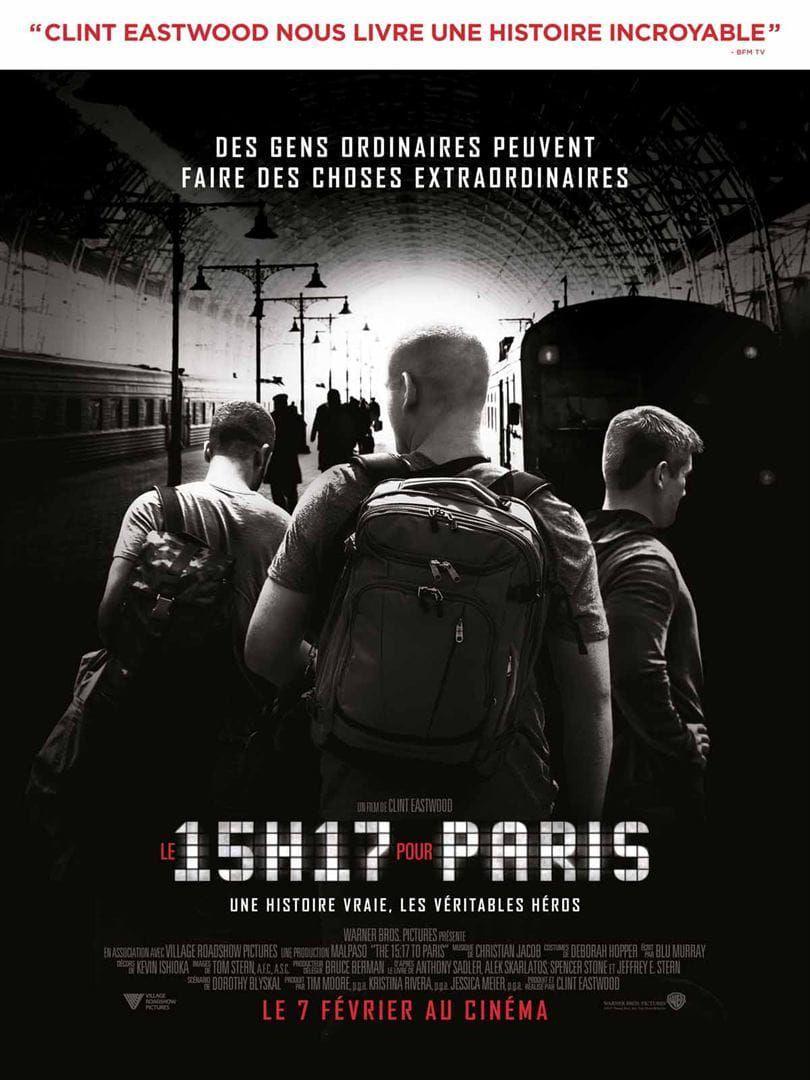 Le 15h17 pour Paris - Film (2018)