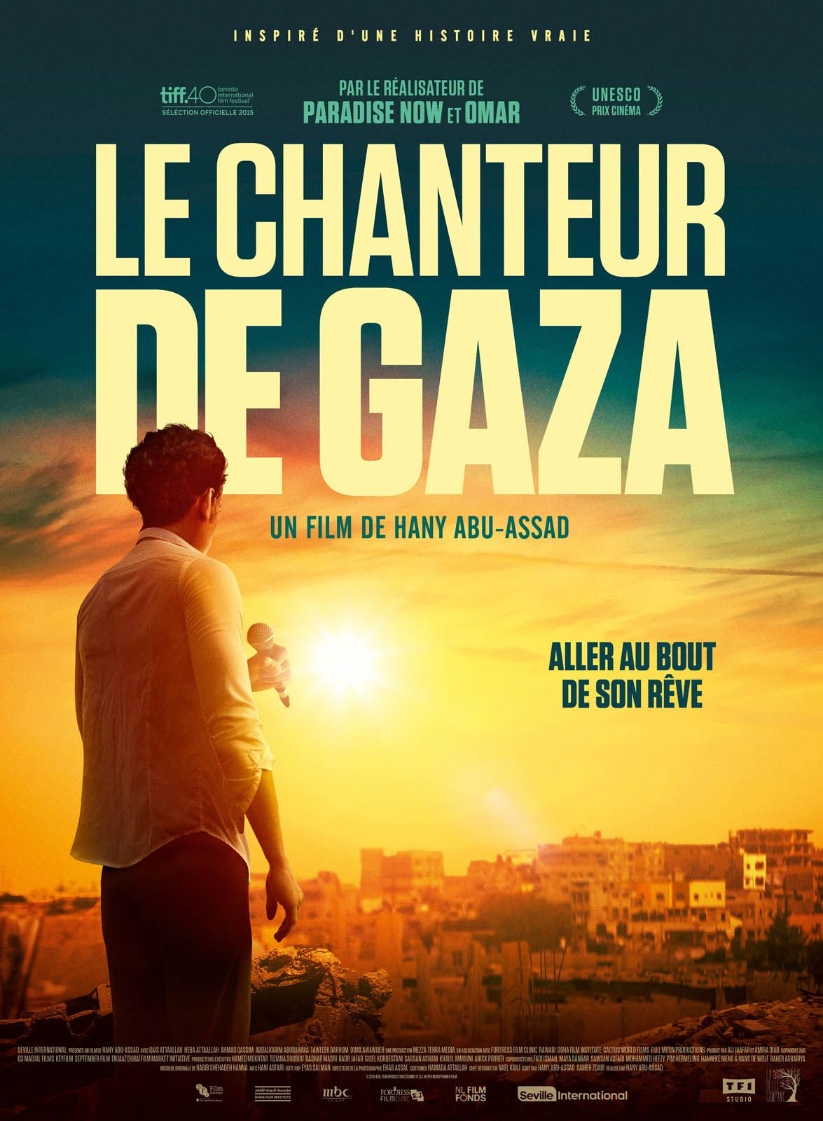 Le Chanteur de Gaza - Film (2016)