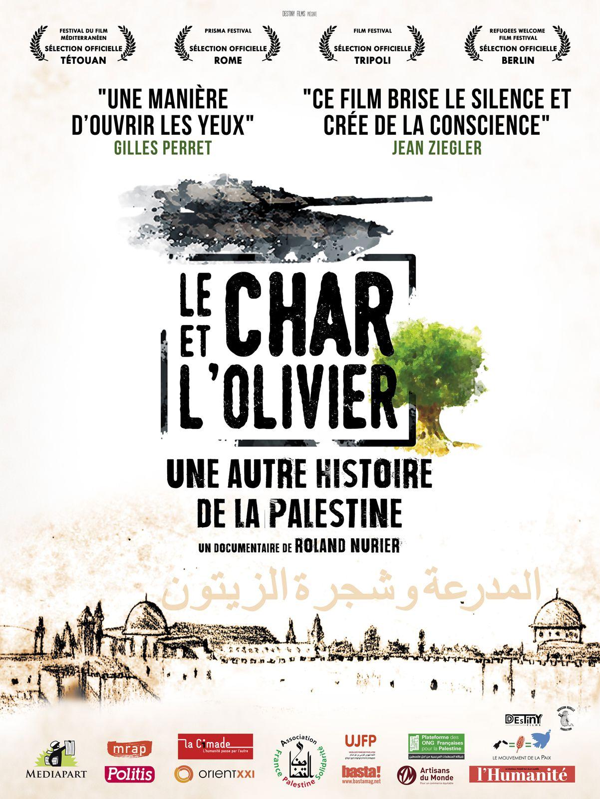 Le Char et l'olivier, une autre histoire de la Palestine - Documentaire (2019)