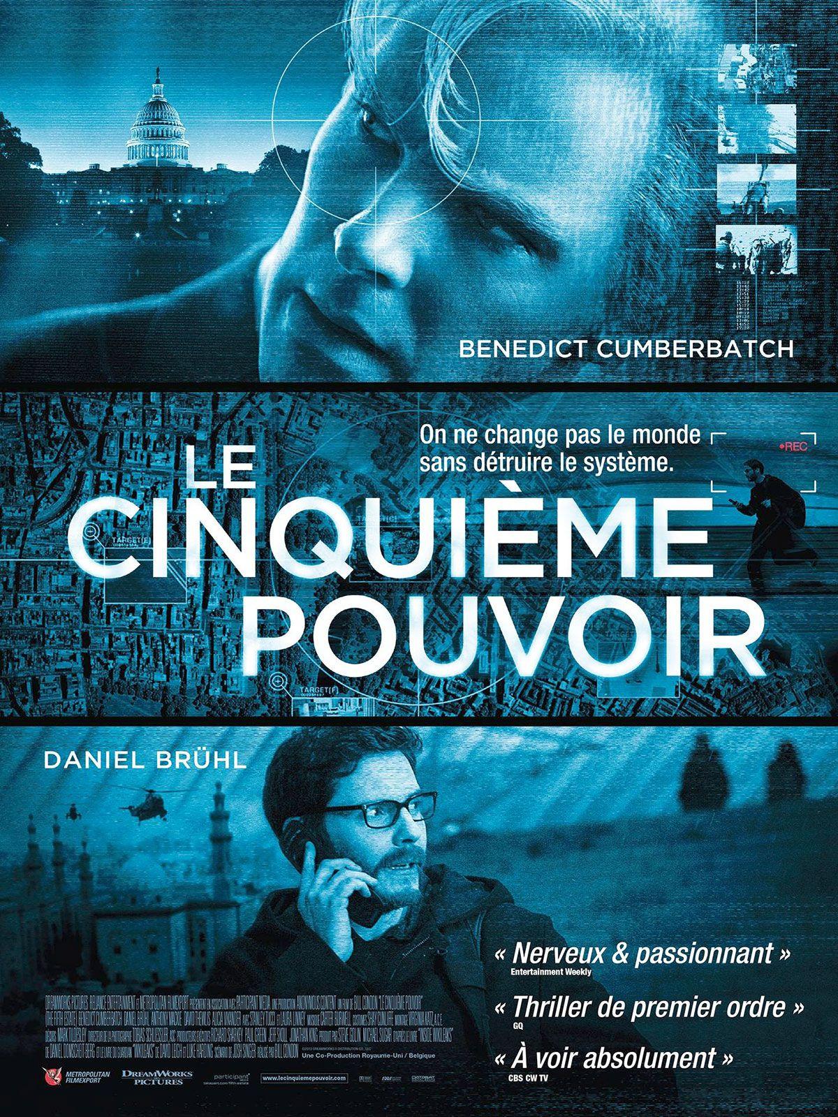 Le Cinquième Pouvoir - Film (2013)
