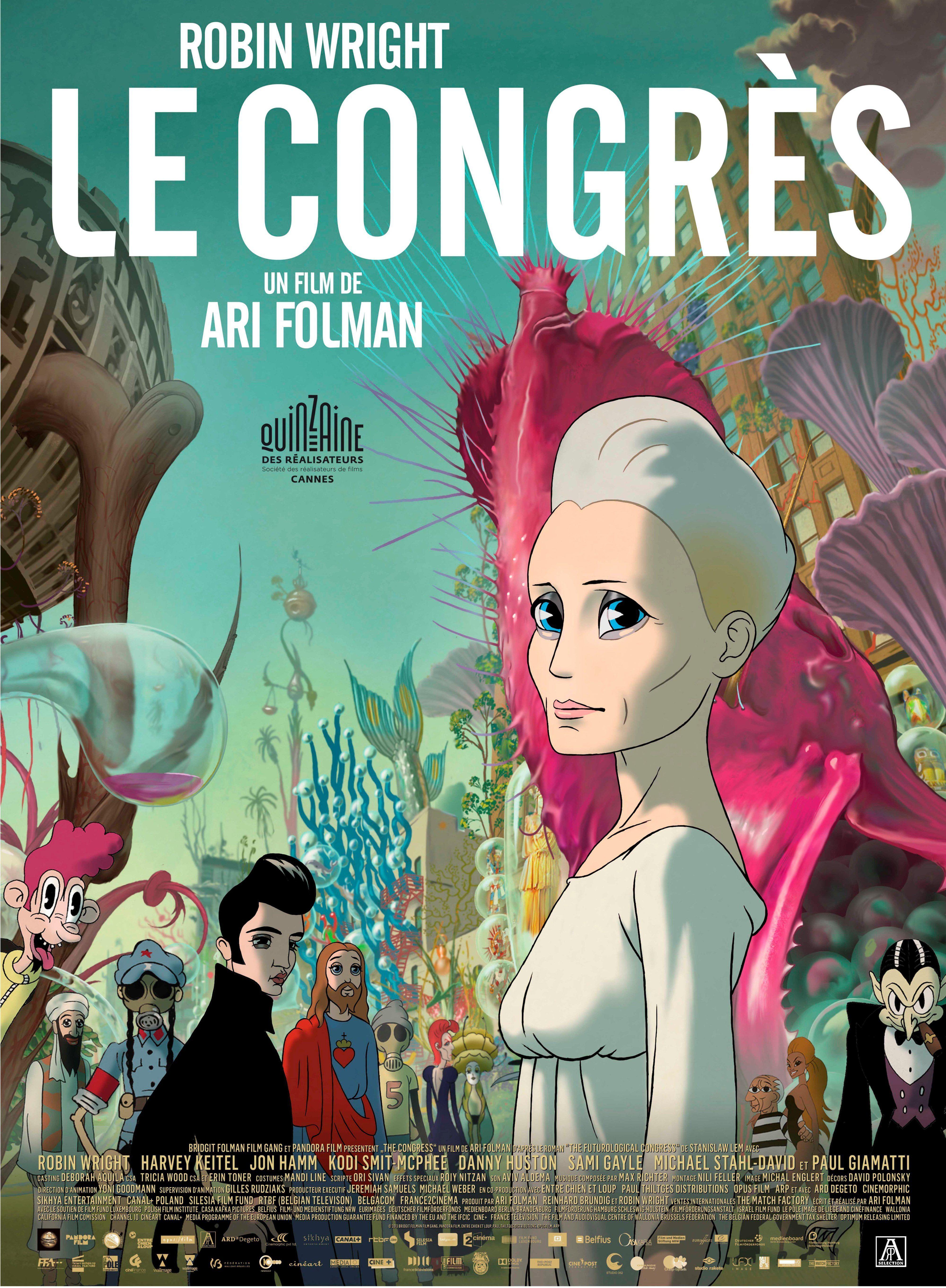 Le Congrès - Long-métrage d'animation (2013)