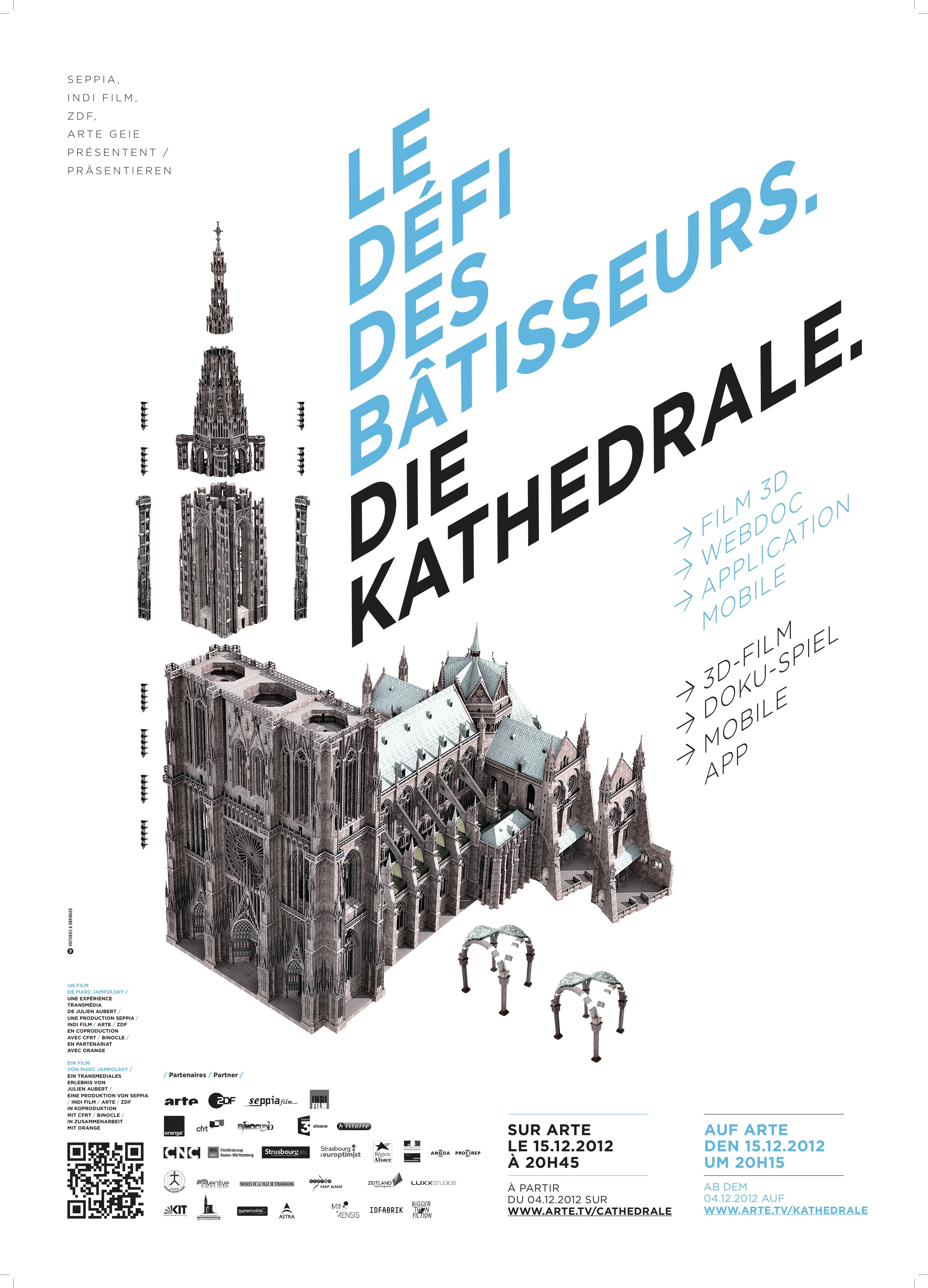 Le Défi des bâtisseurs : La Cathédrale de Strasbourg - Documentaire (2012)